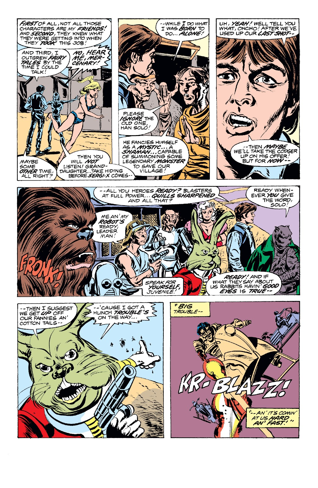 Read online Star Wars Legends: The Original Marvel Years - Epic Collection comic -  Issue # TPB 1 (Part 2) - 64