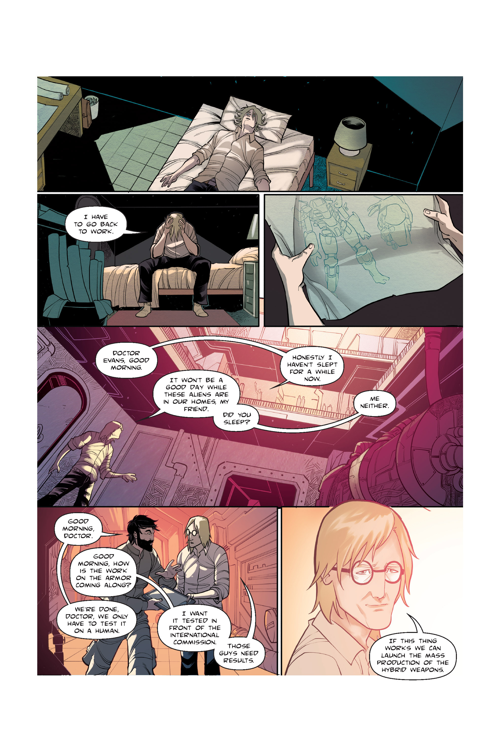 Read online The Shadow of a Terrible Thing comic -  Issue # TPB - 53