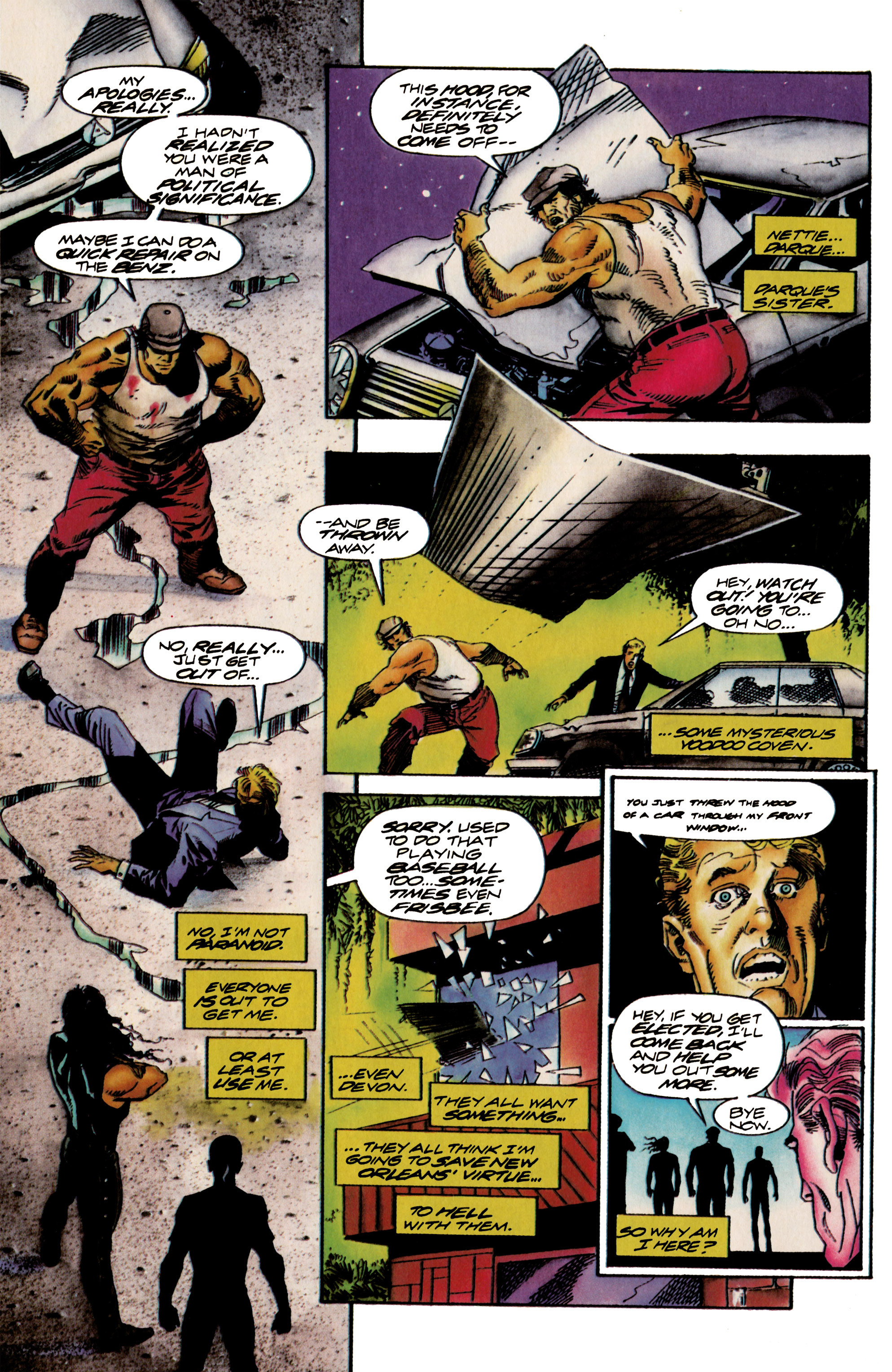 Read online Shadowman (1992) comic -  Issue #18 - 20