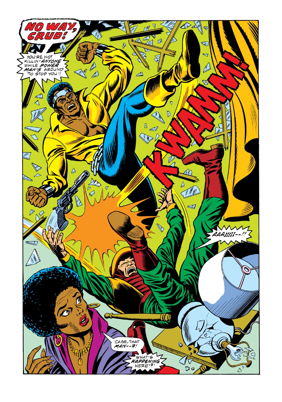 Read online Marvel Masterworks: Luke Cage, Power Man comic -  Issue # TPB 3 (Part 1) - 85