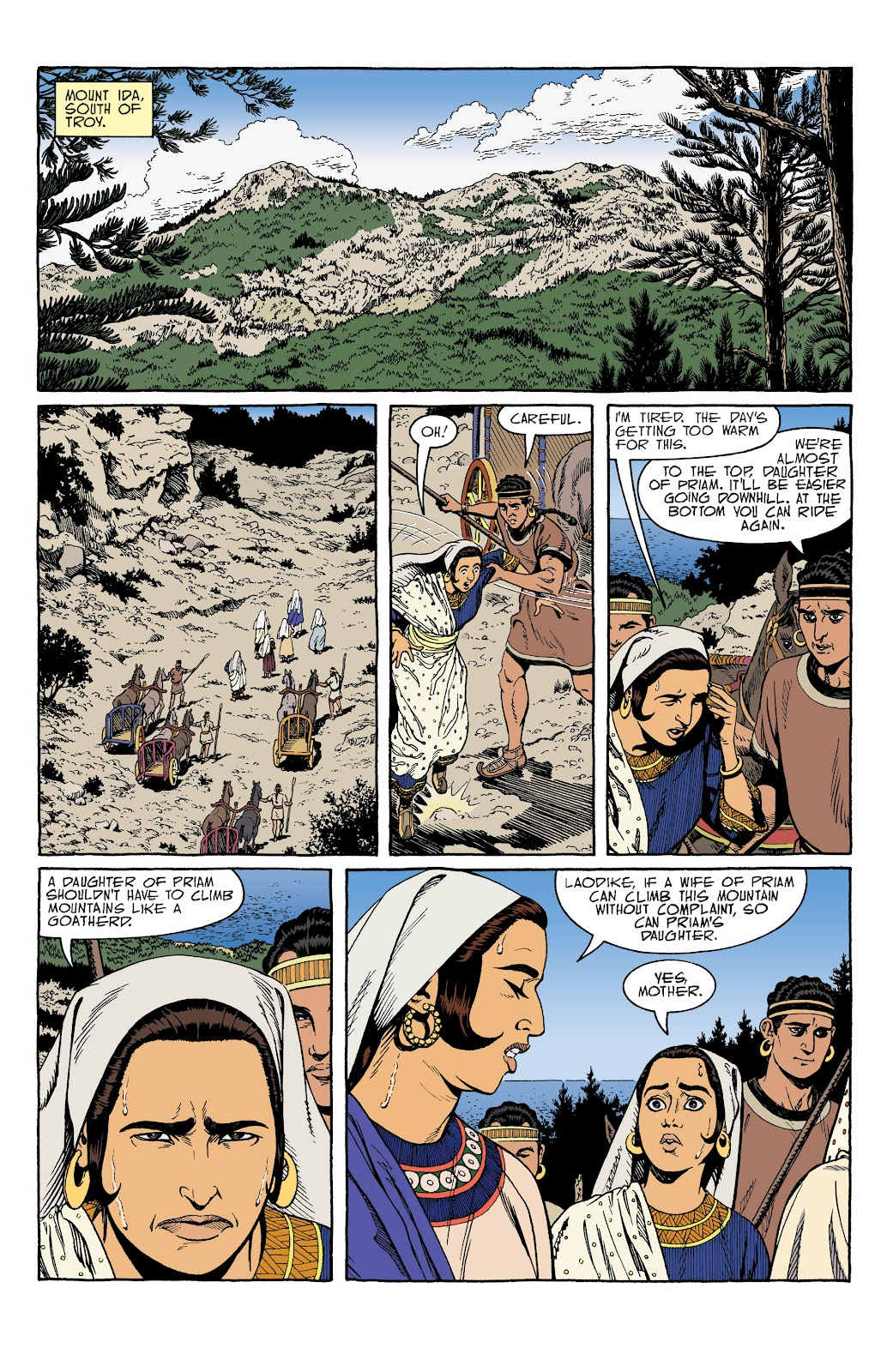 Read online Age of Bronze comic -  Issue #34 - 6