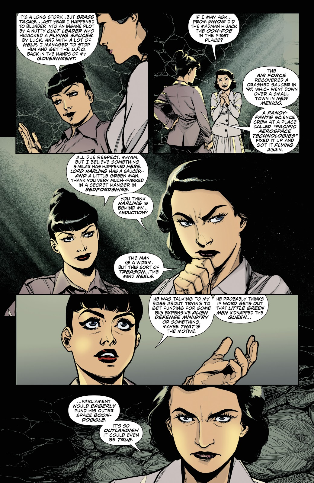 Read online Bettie Page (2018) comic -  Issue #3 - 8