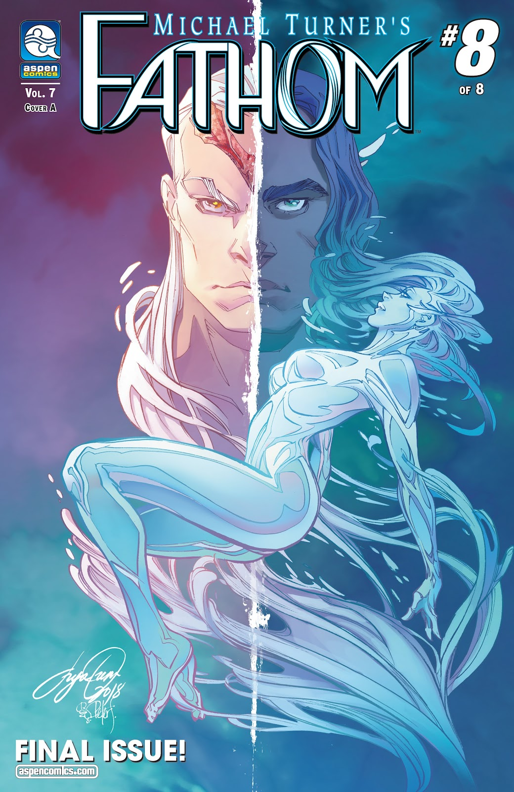 Read online Fathom (2018) comic -  Issue #8 - 1