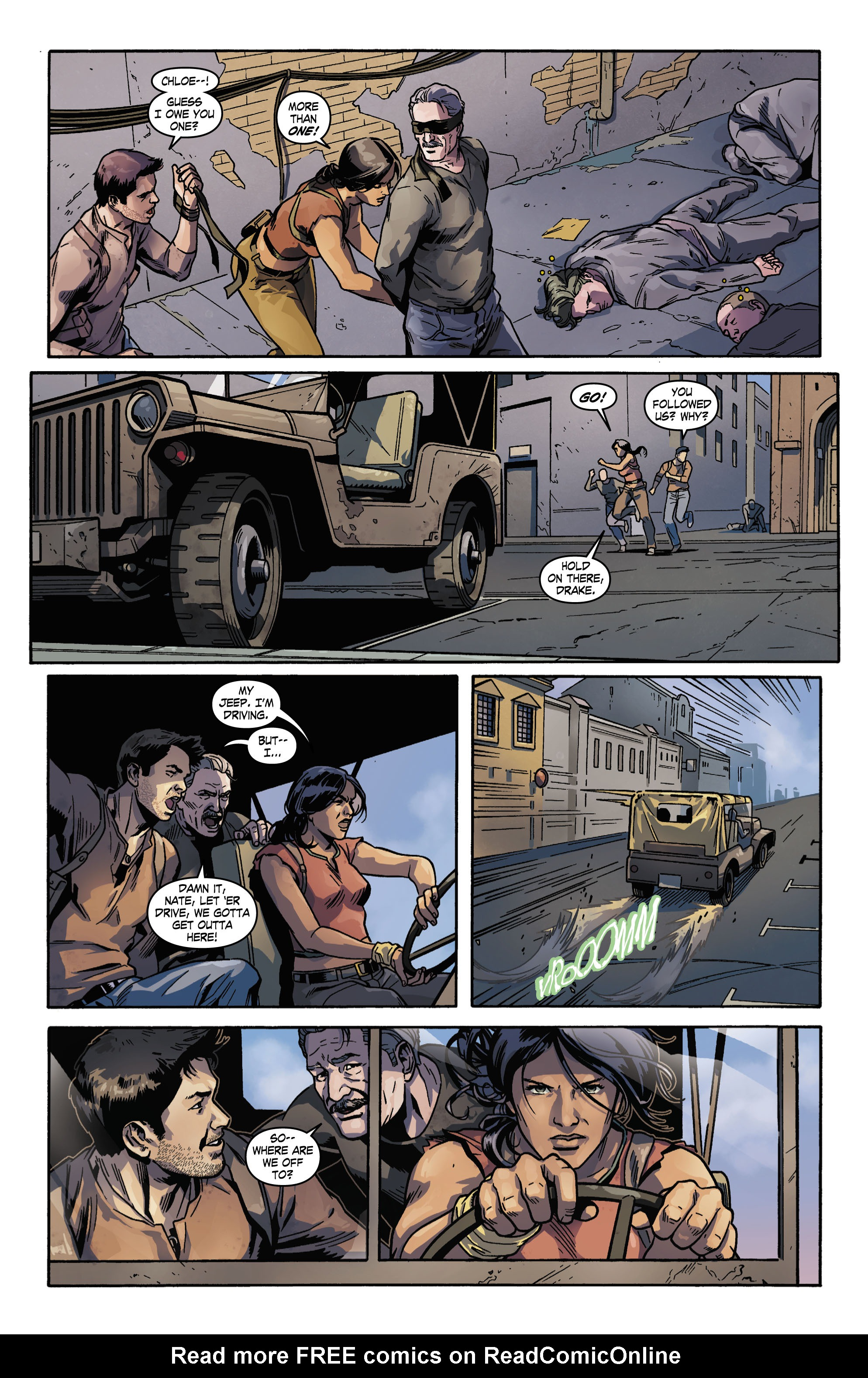 Read online Uncharted comic -  Issue #3 - 7