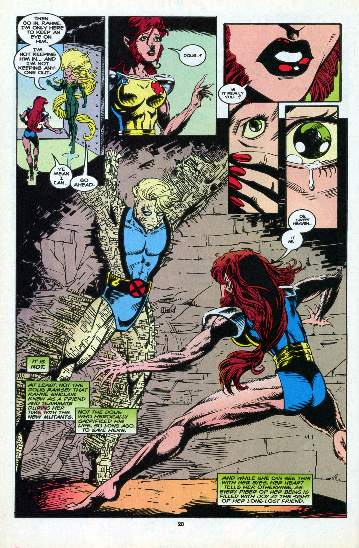 Read online X-Factor (1986) comic -  Issue #106 - 22