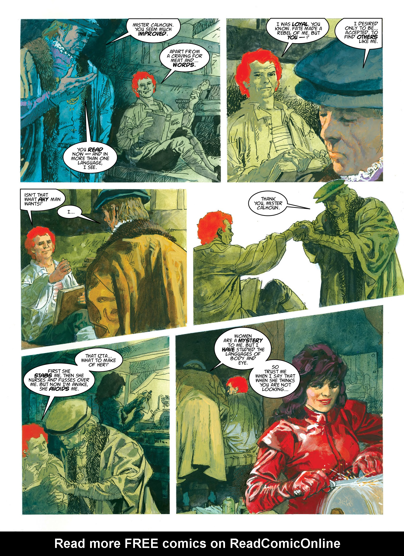 Read online 2000 AD comic -  Issue #1969 - 23