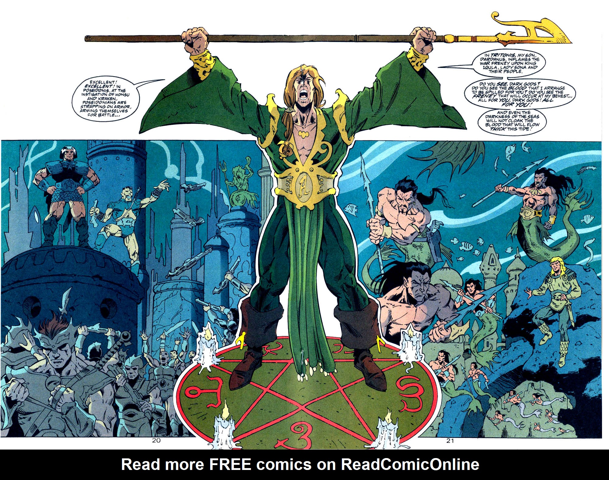 Read online Aquaman (1994) comic -  Issue #Aquaman (1994) _Annual 4 - 21