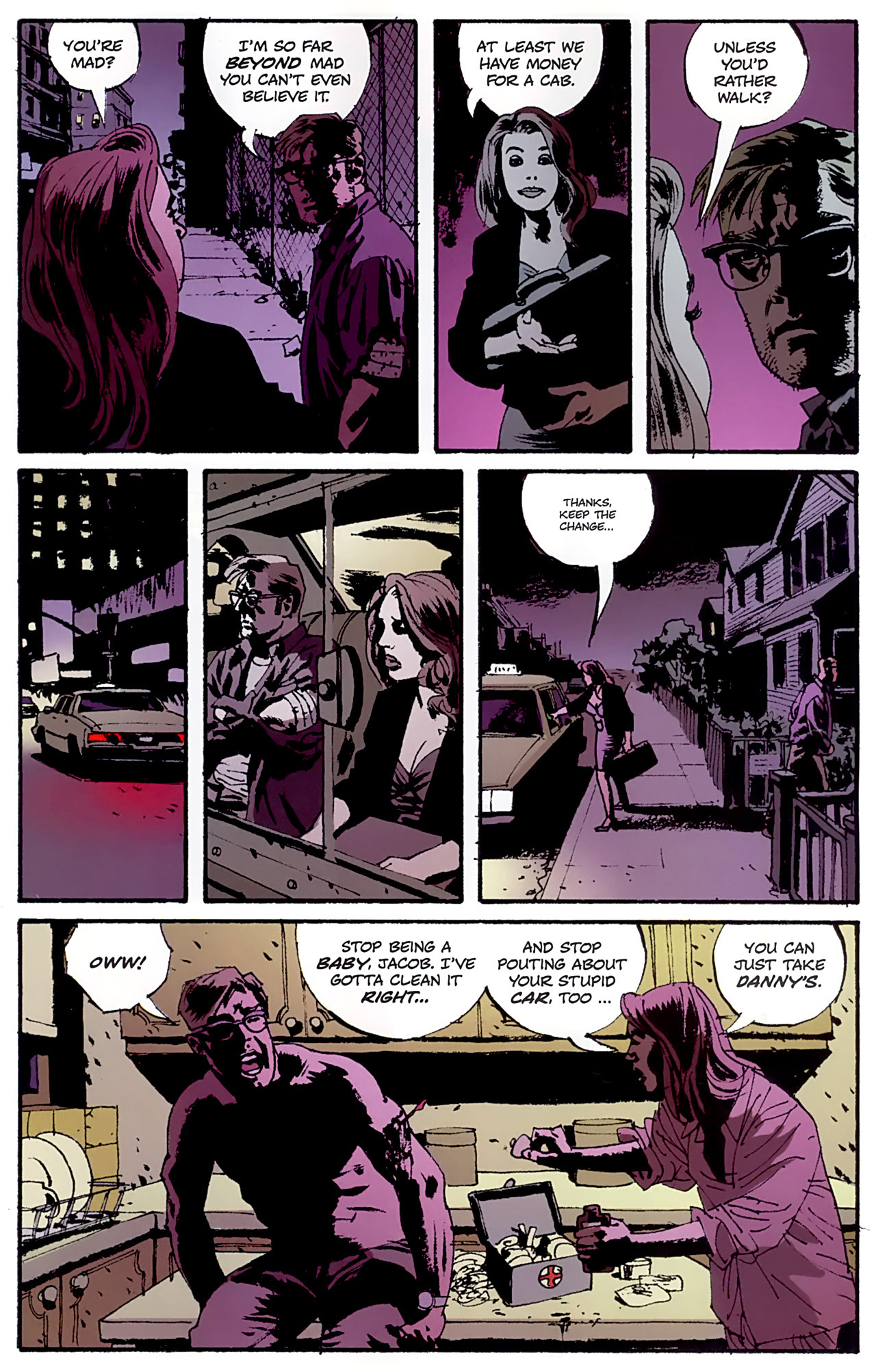 Read online Criminal (2008) comic -  Issue #6 - 7