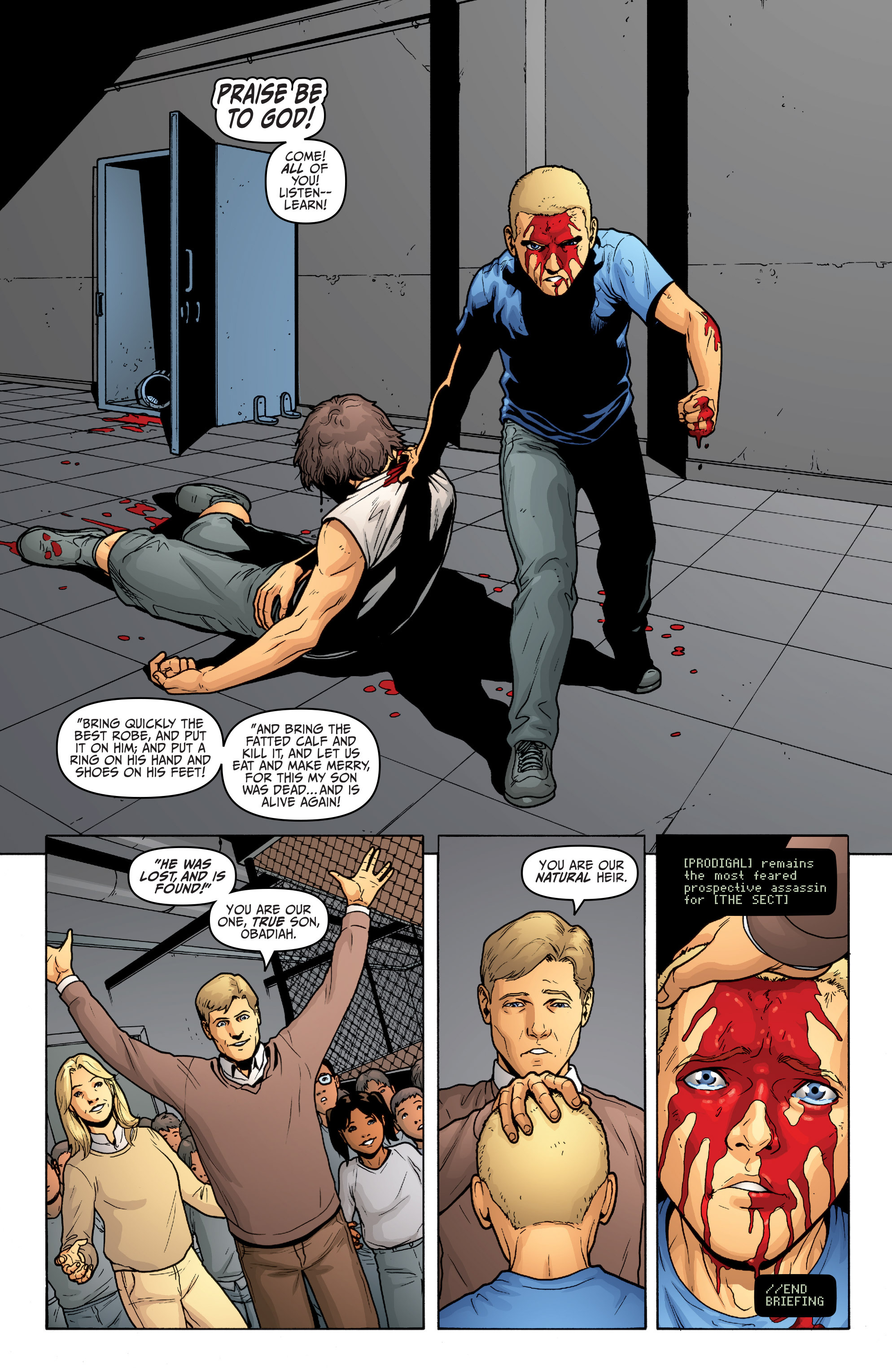 Read online Archer and Armstrong comic -  Issue #Archer and Armstrong _TPB 5 - 30