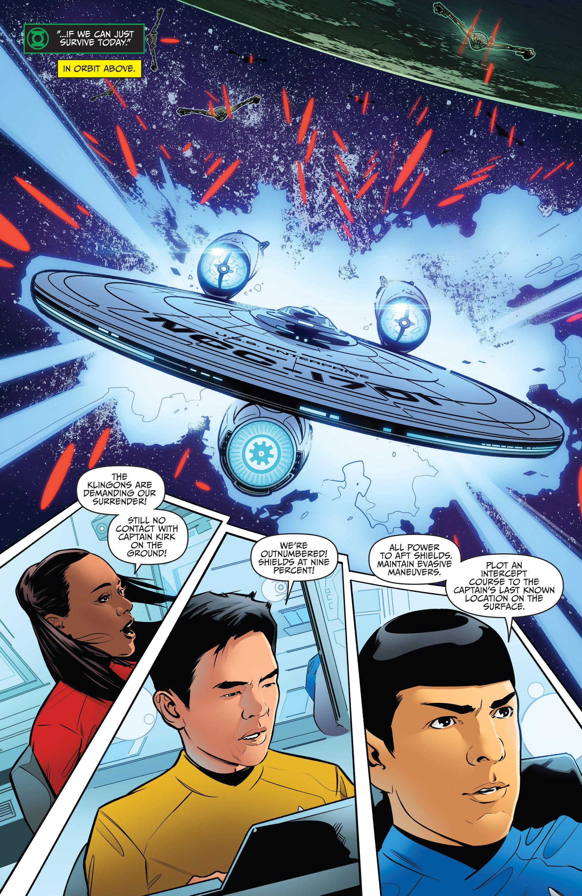 Read online Star Trek/Green Lantern (2016) comic -  Issue #6 - 8