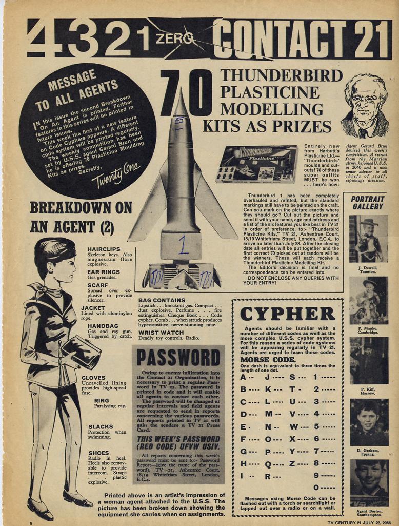 Read online TV Century 21 (TV 21) comic -  Issue #79 - 6