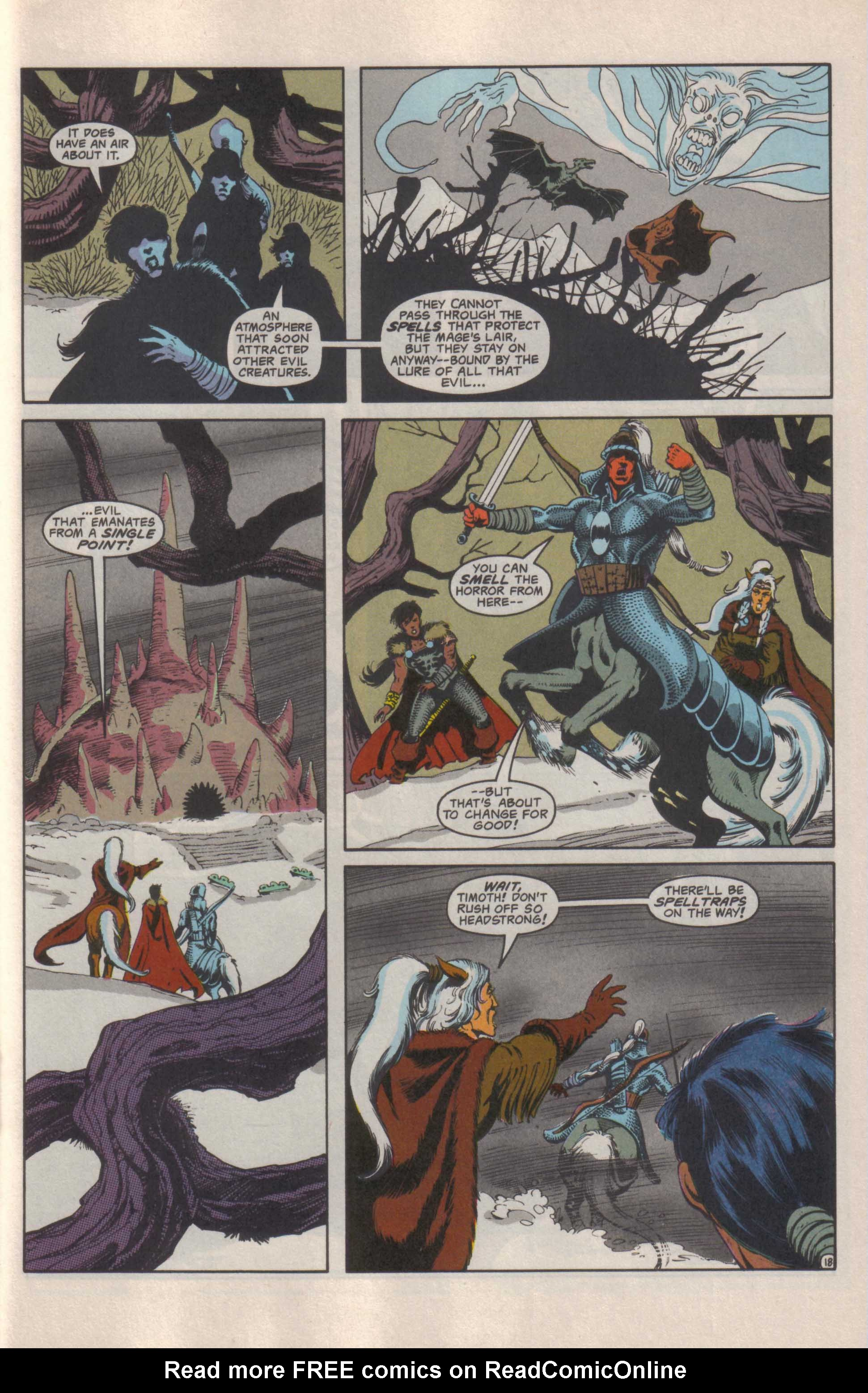 Read online Advanced Dungeons & Dragons comic -  Issue #25 - 19