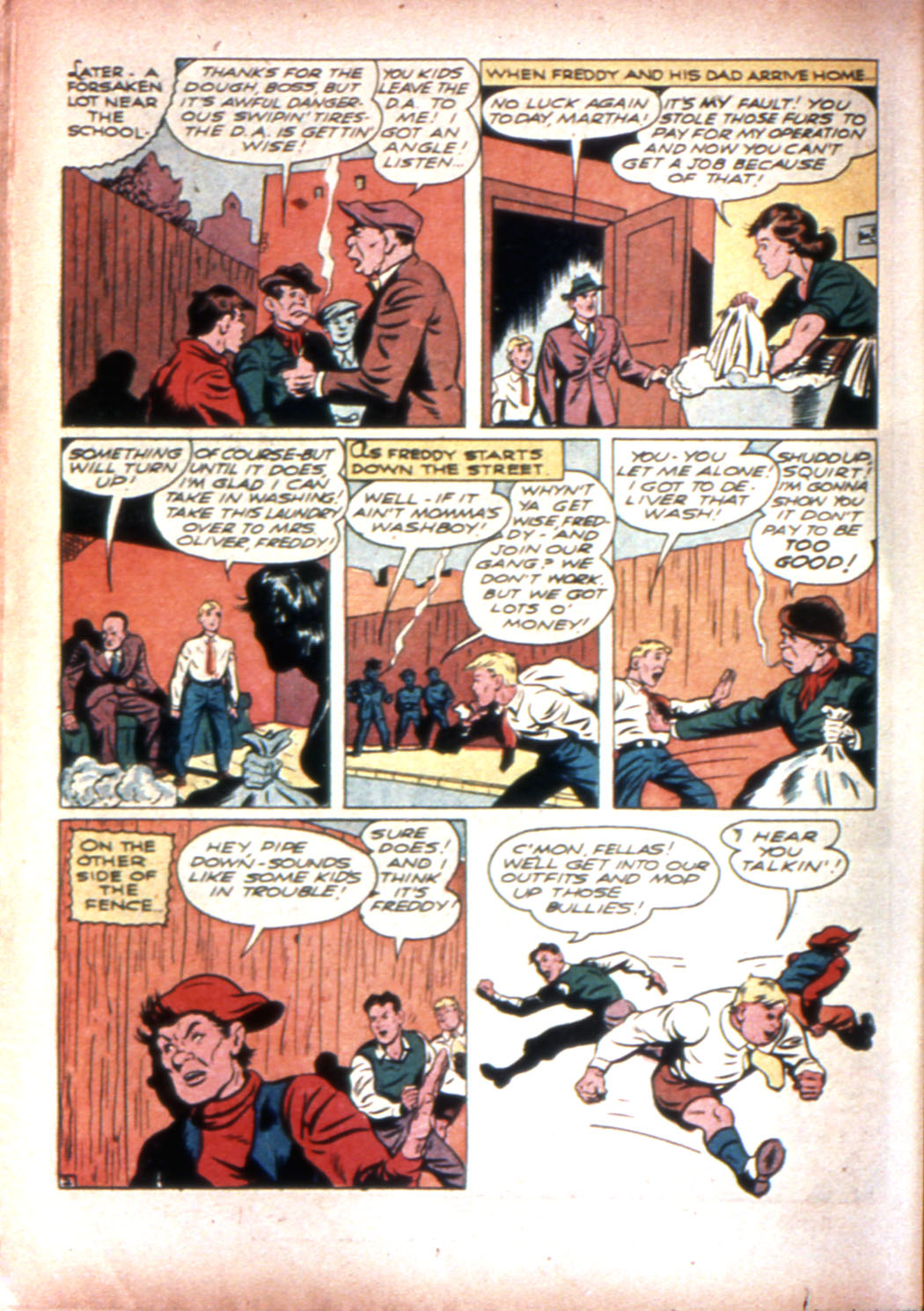 Read online Sensation (Mystery) Comics comic -  Issue #20 - 26