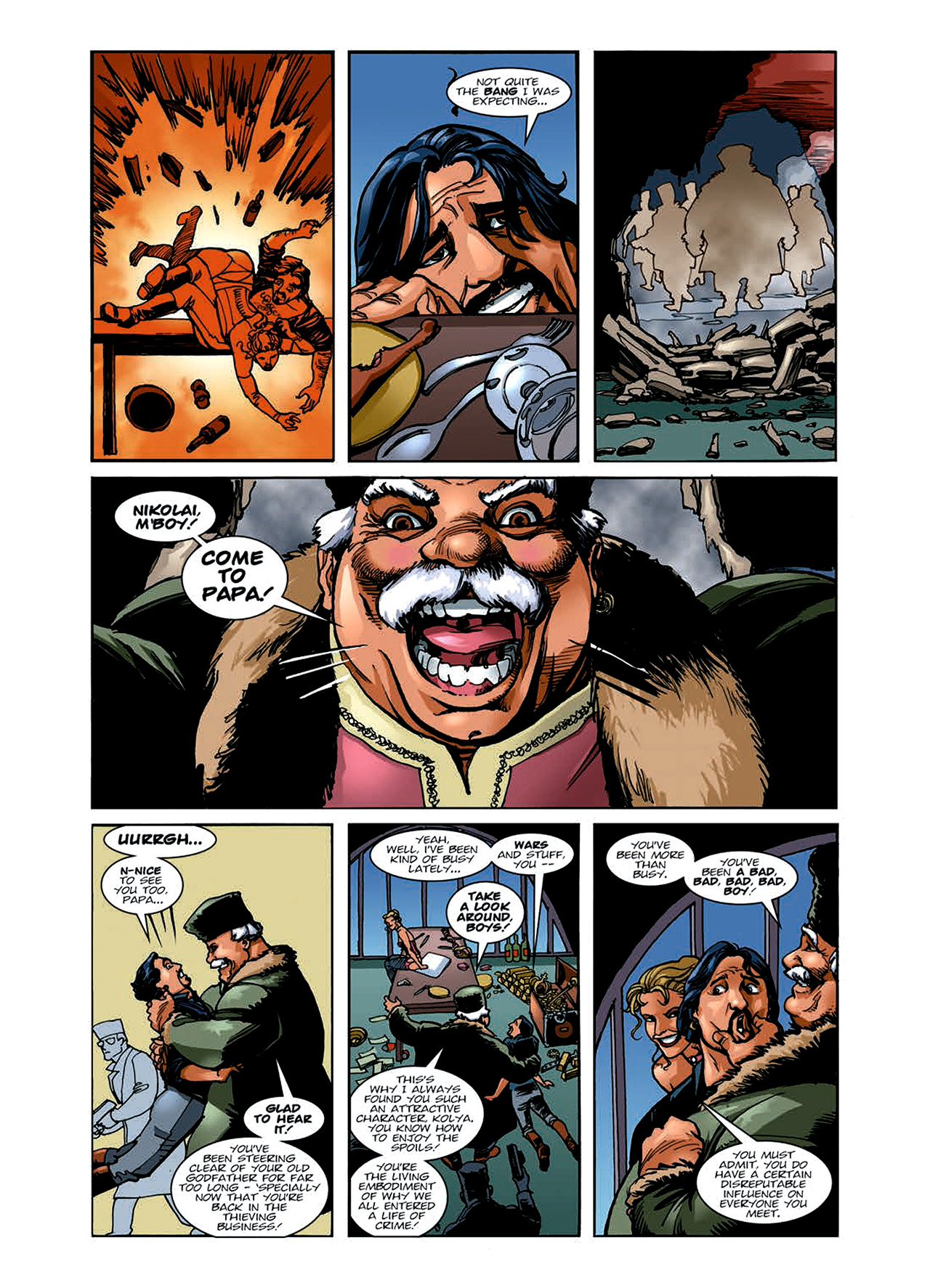 Read online Nikolai Dante comic -  Issue # TPB 6 - 42