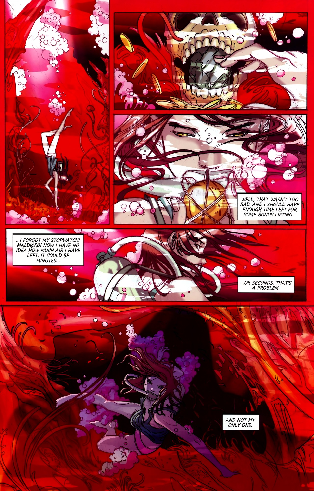 Read online Hexed comic -  Issue #2 - 8
