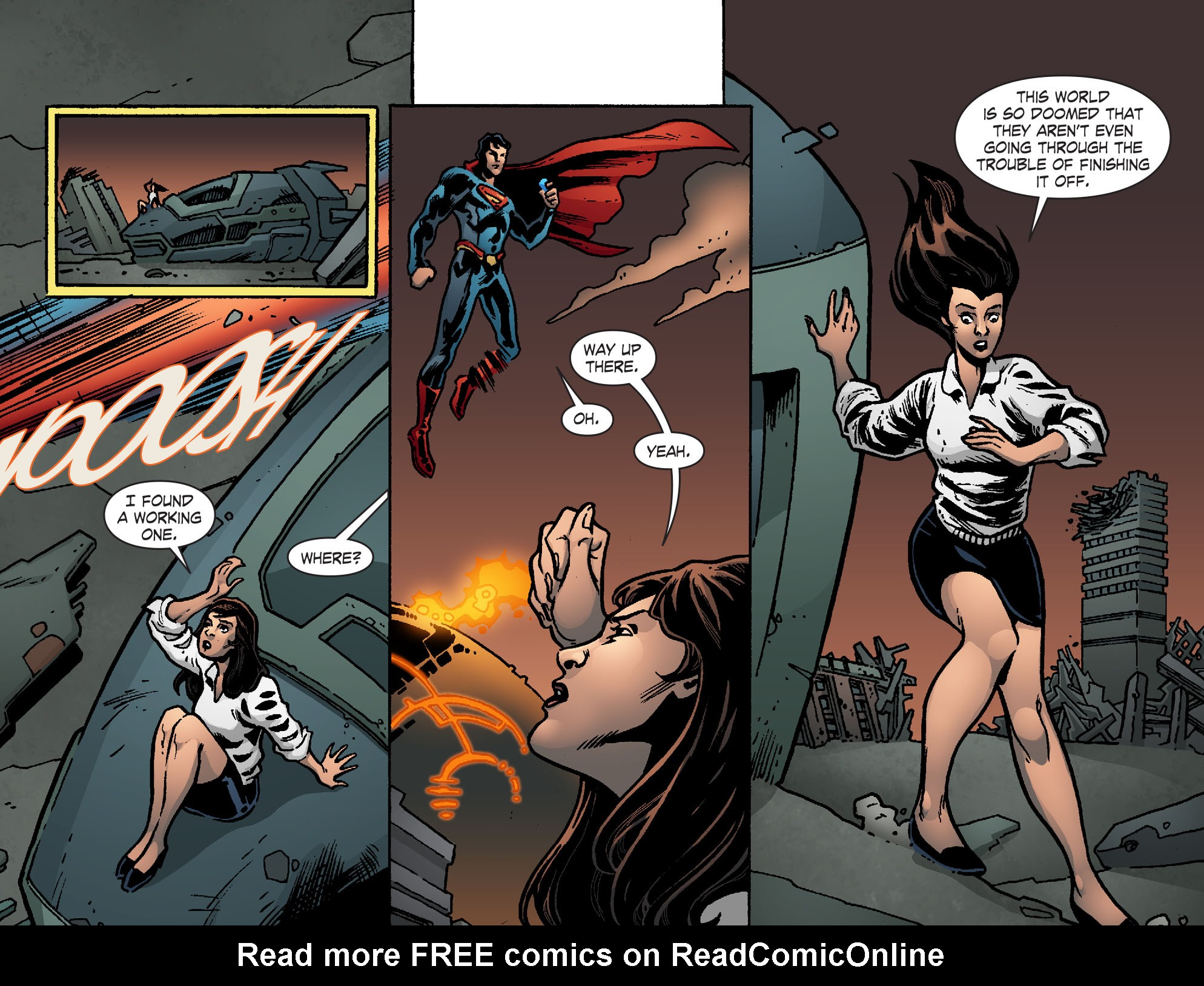Read online Smallville: Chaos [II] comic -  Issue #7 - 7