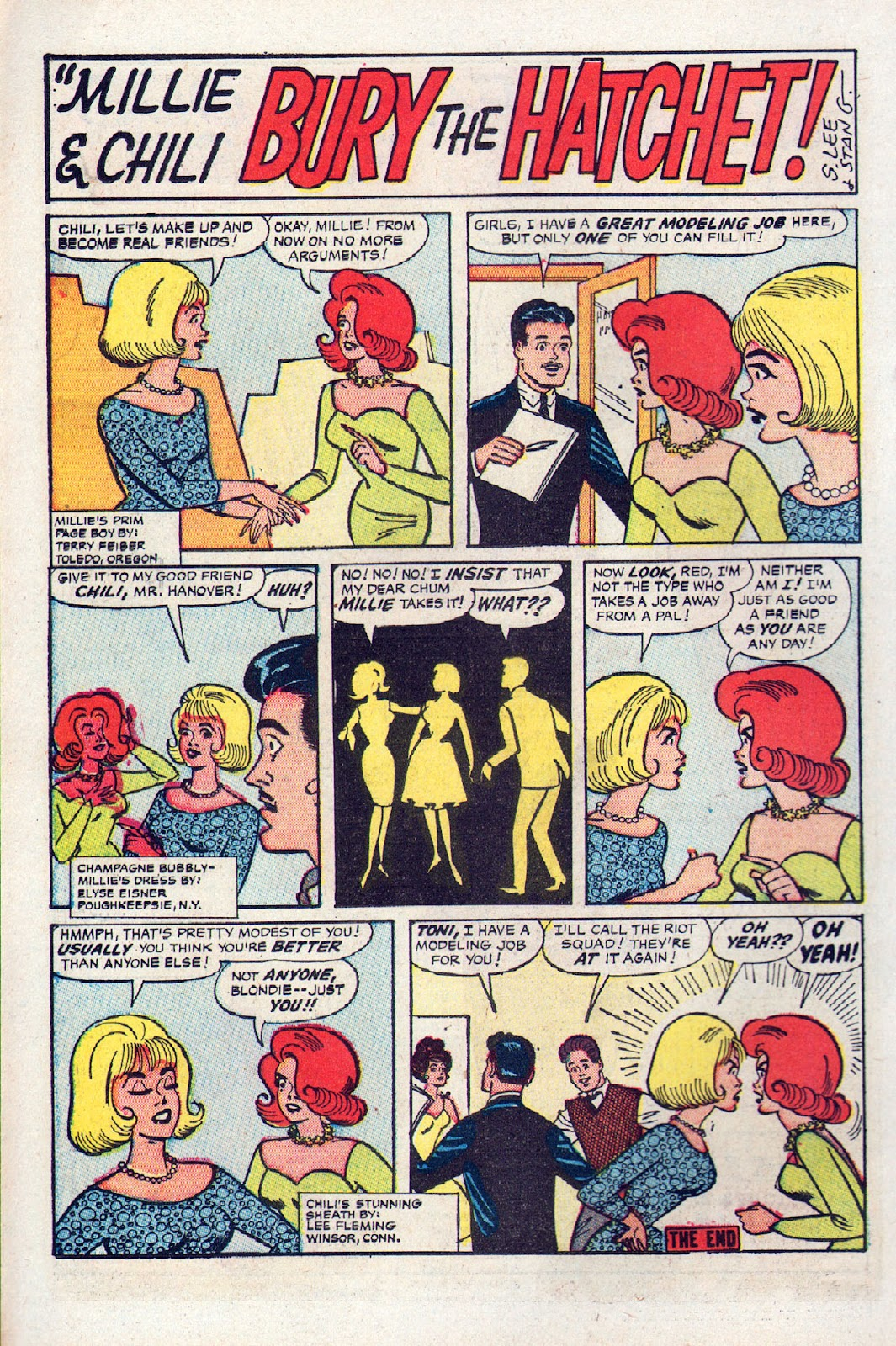 Read online Millie the Model comic -  Issue # Annual 2 - 24