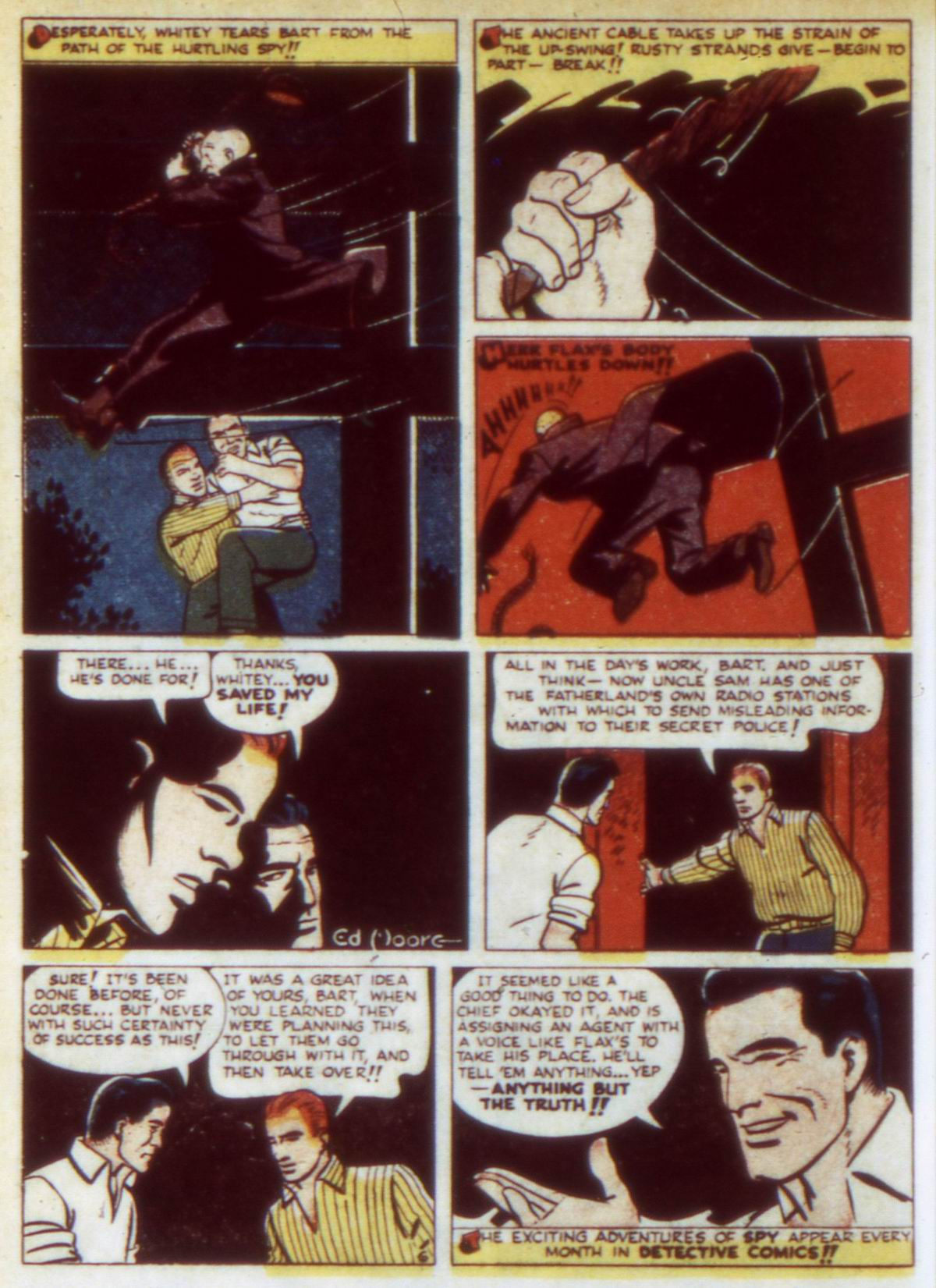 Read online Detective Comics (1937) comic -  Issue #60 - 22