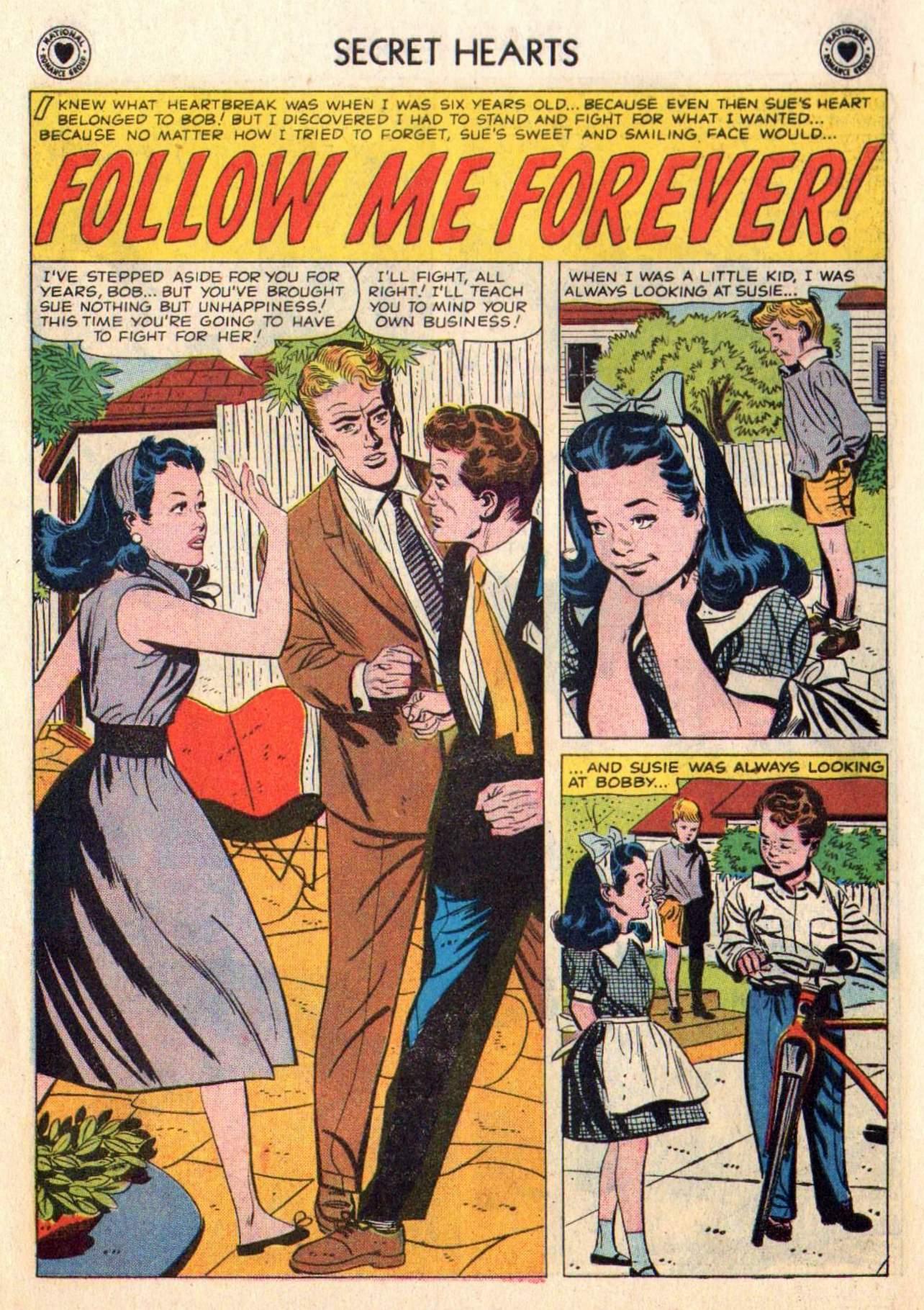 Read online Secret Hearts comic -  Issue #48 - 10