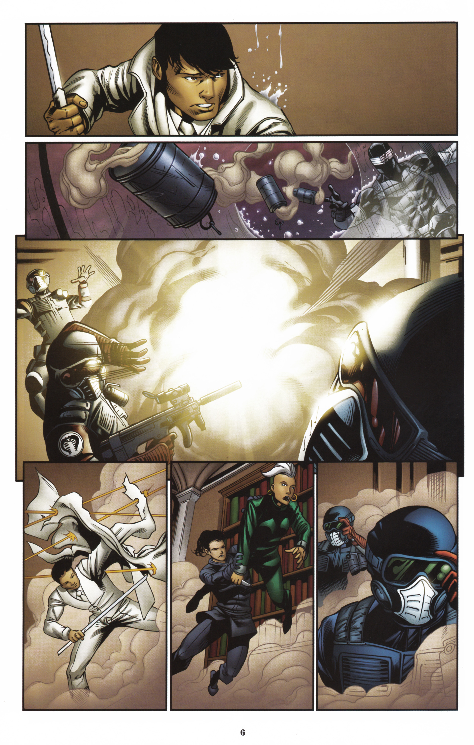 Read online Snake Eyes and Storm Shadow comic -  Issue #16 - 8