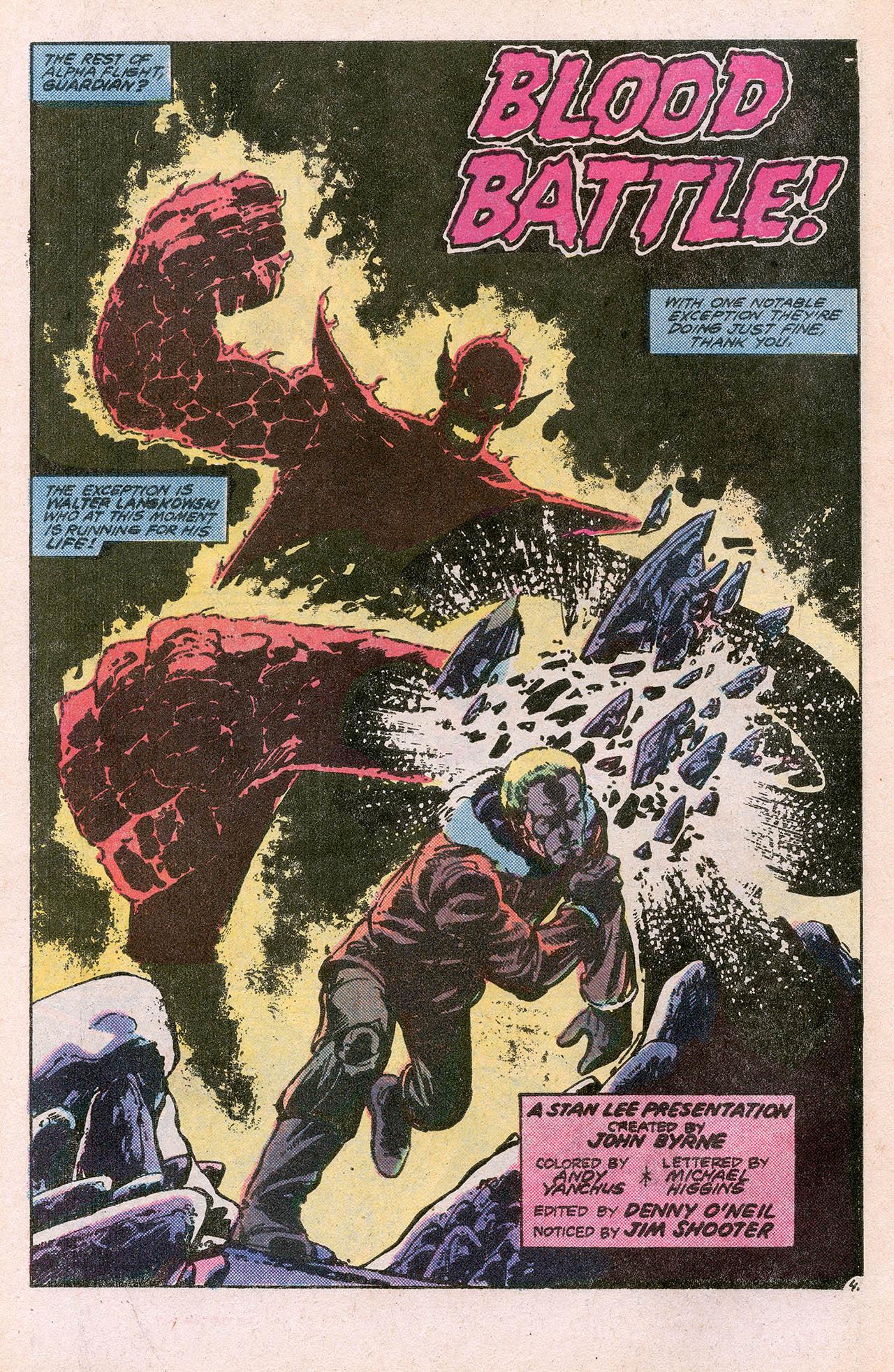 Read online Alpha Flight (1983) comic -  Issue #10 - 6