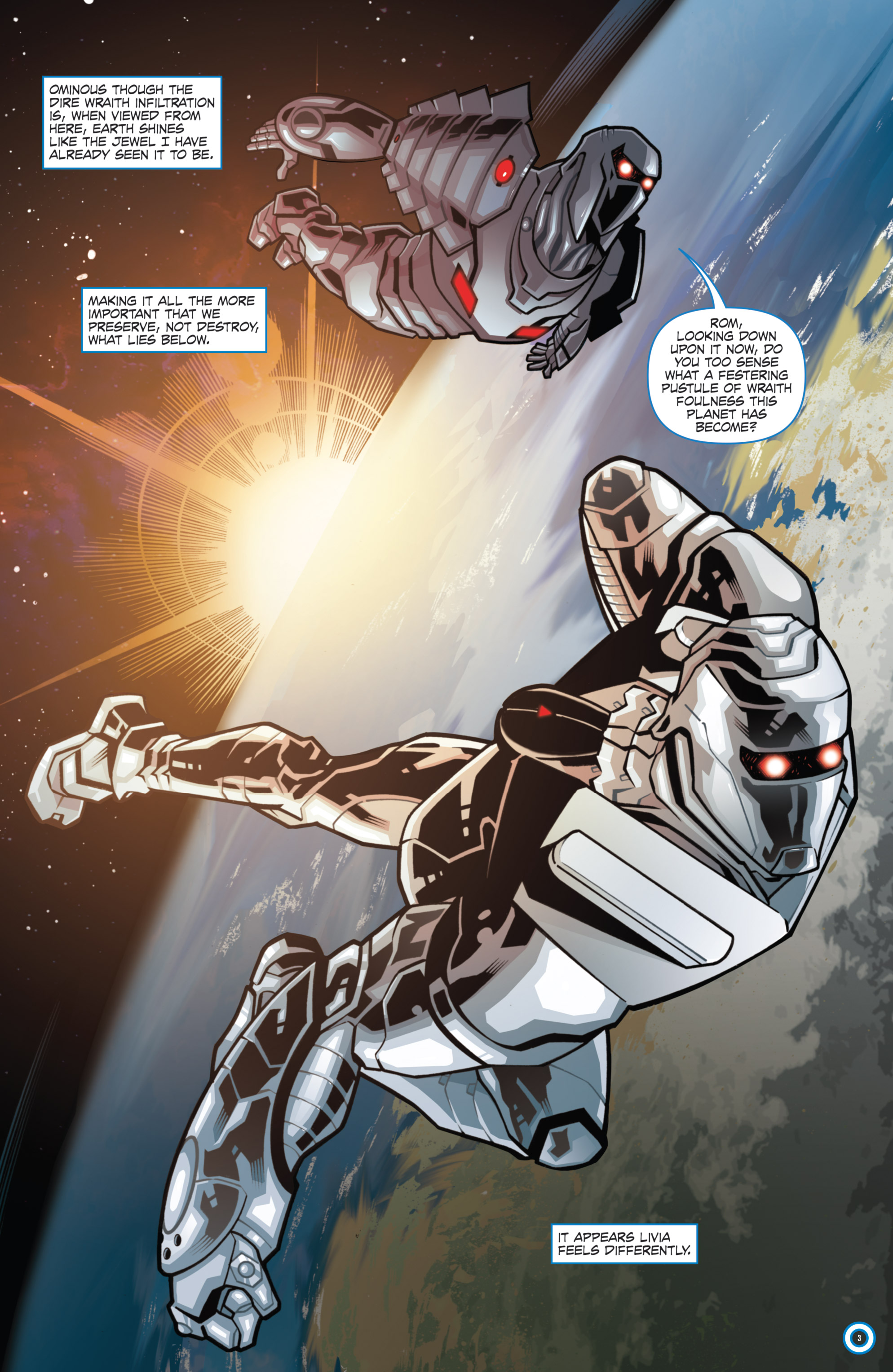 Read online ROM (2016) comic -  Issue #11 - 5