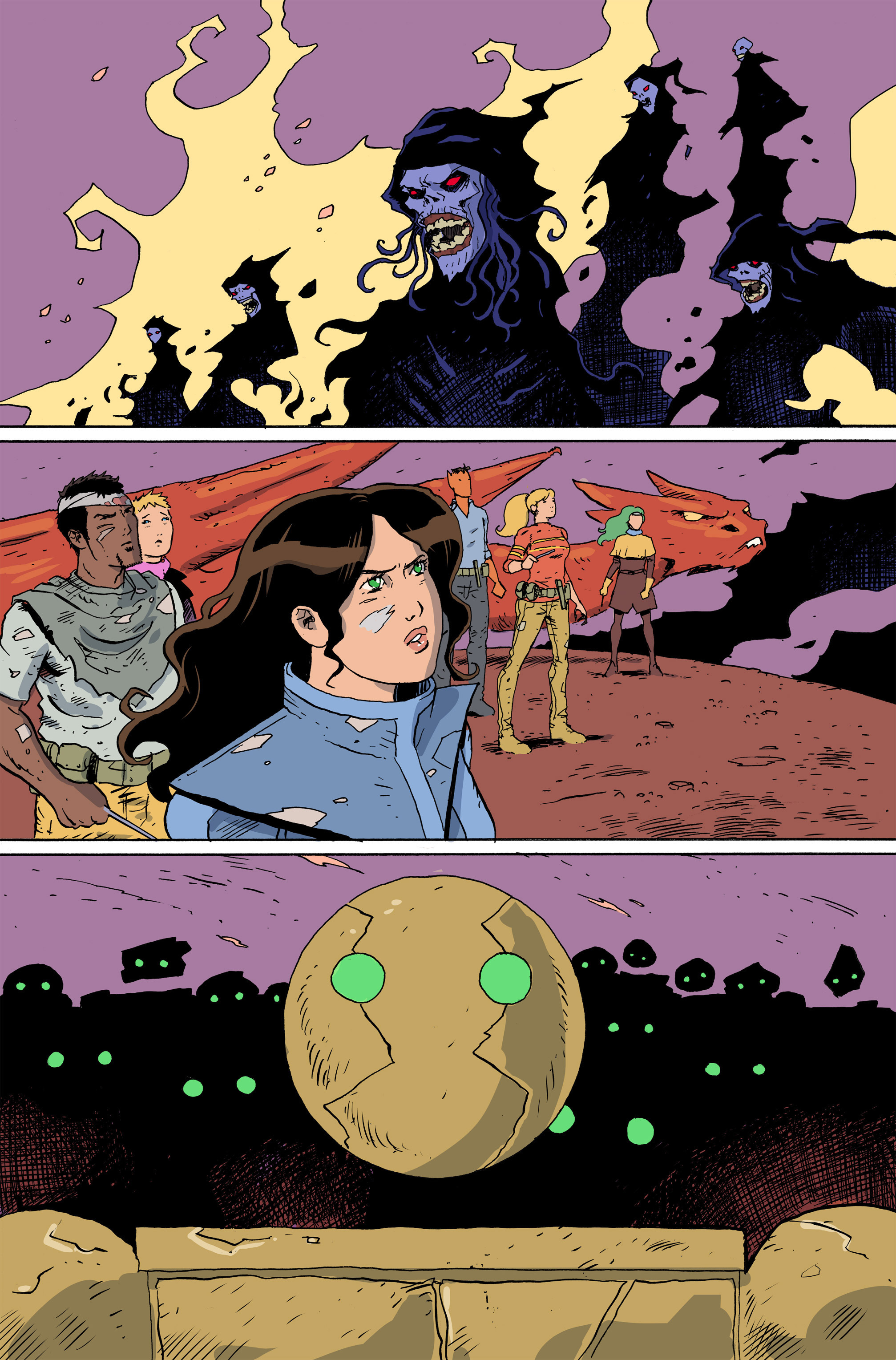Read online Amelia Cole Versus The End of Everything comic -  Issue #28 - 3