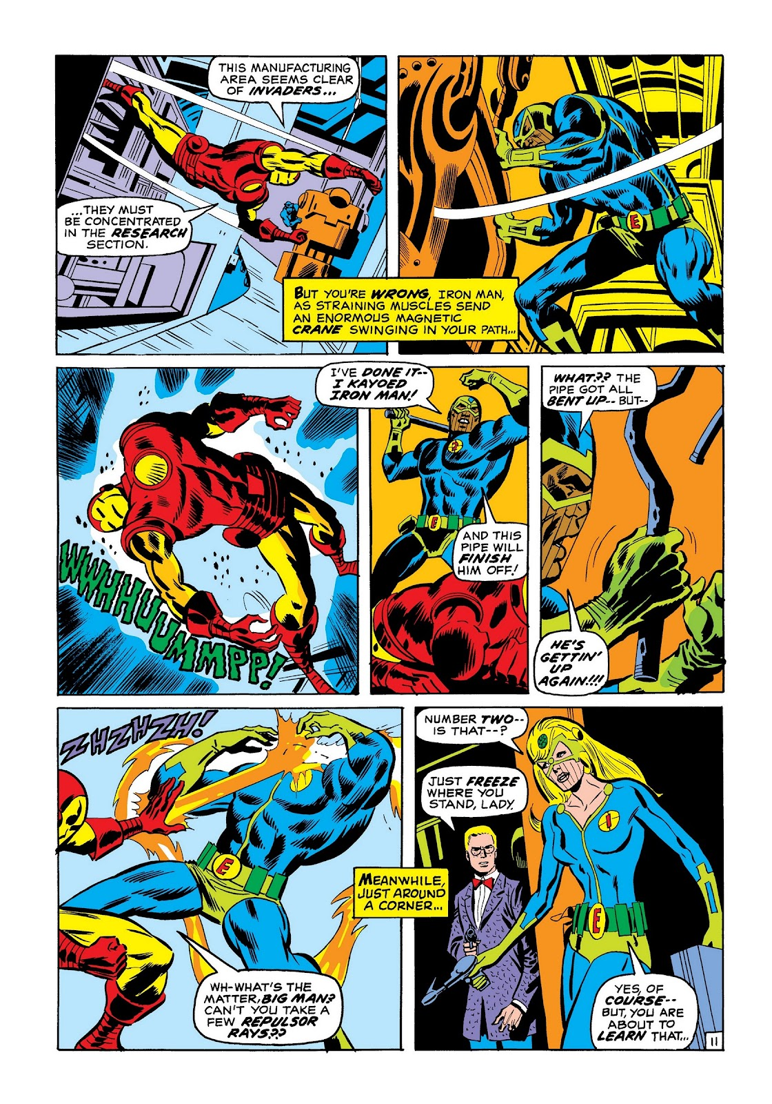 Read online Marvel Masterworks: The Invincible Iron Man comic -  Issue # TPB 7 (Part 2) - 80