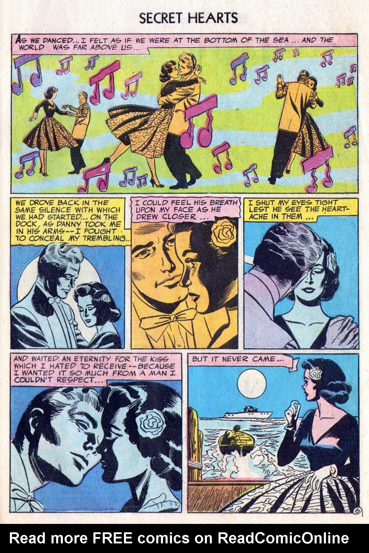 Read online Secret Hearts comic -  Issue #28 - 31