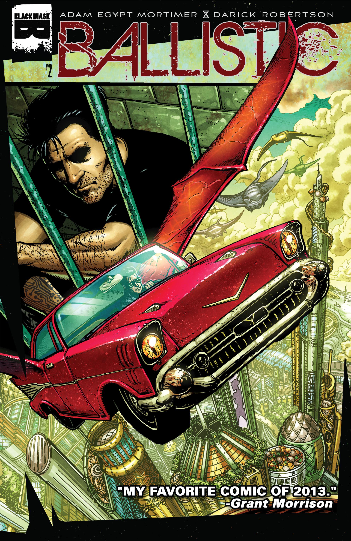 Read online Ballistic (2013) comic -  Issue #2 - 1