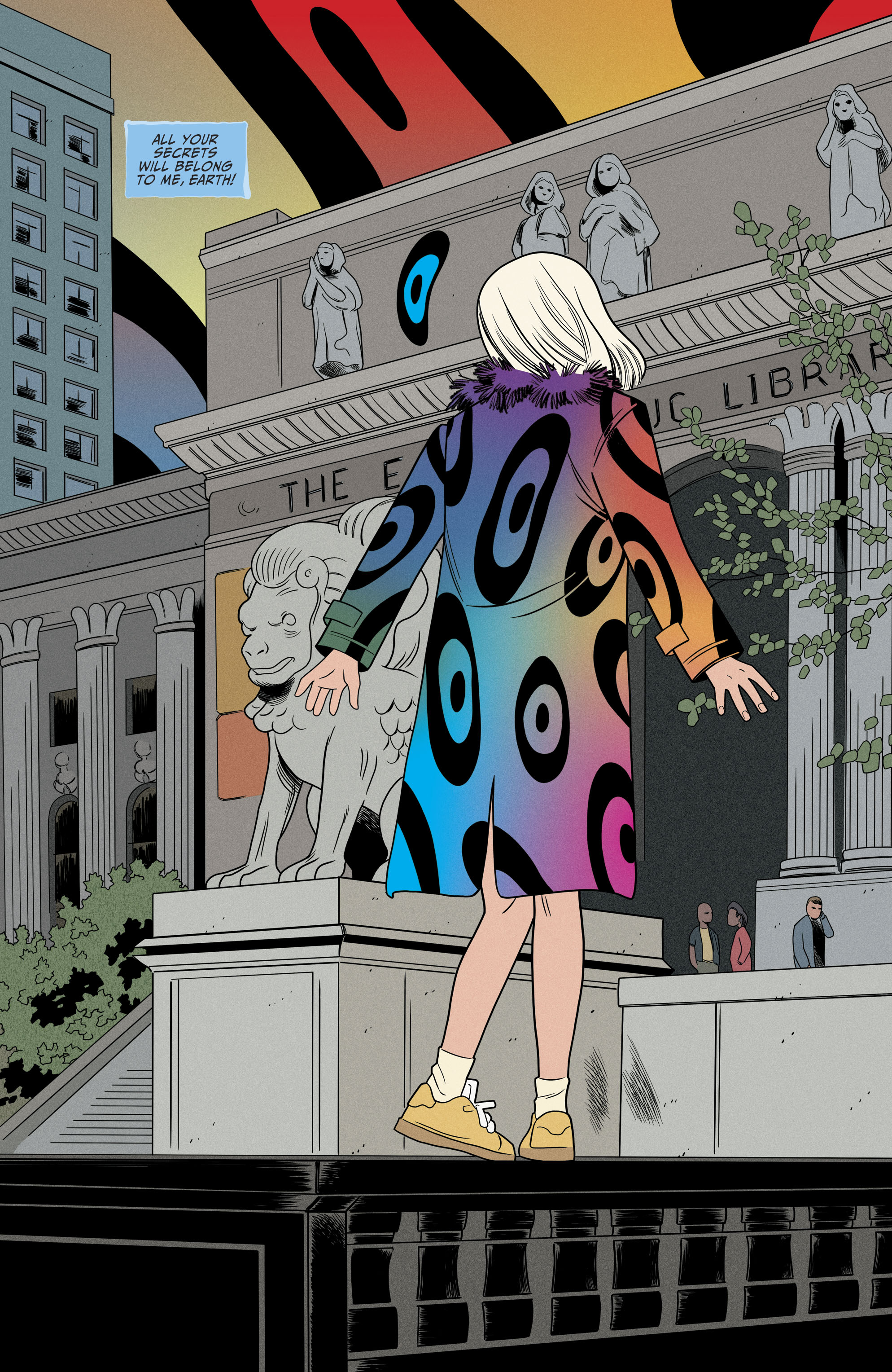 Read online Shade, the Changing Girl comic -  Issue #9 - 15
