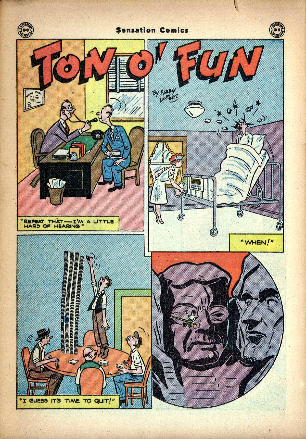 Read online Sensation (Mystery) Comics comic -  Issue #62 - 34