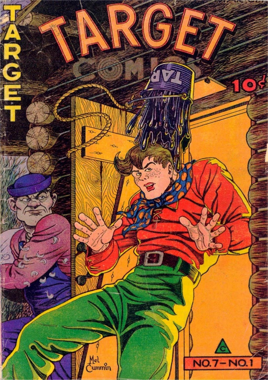 Target Comics 67 Page 1