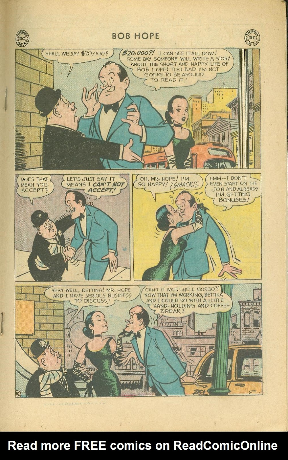 The Adventures of Bob Hope issue 76 - Page 21