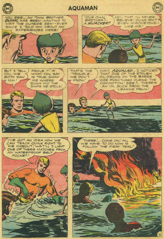 Read online Aquaman (1962) comic -  Issue #6 - 8