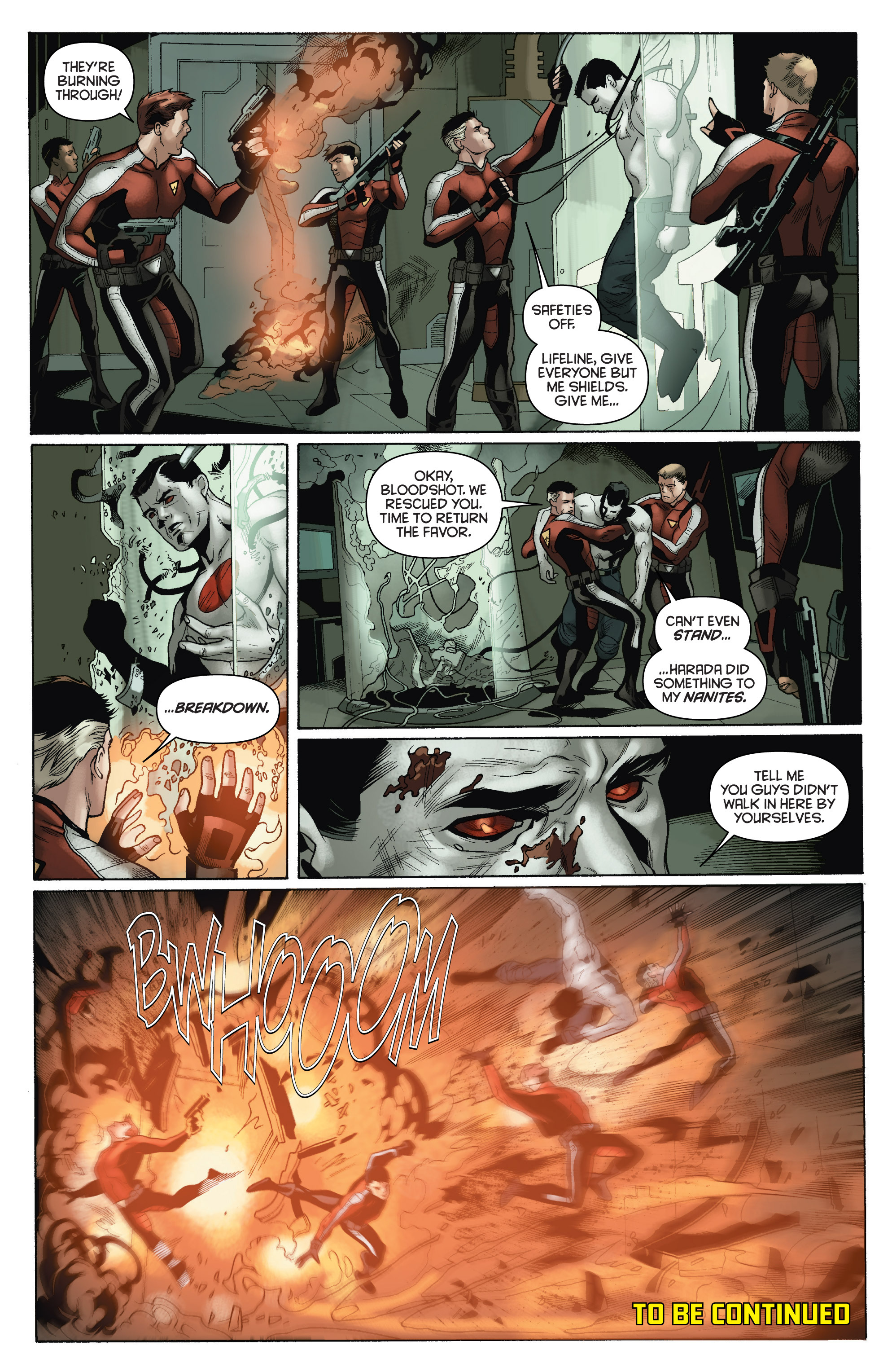 Read online Bloodshot and H.A.R.D.Corps comic -  Issue # TPB 4 - 28