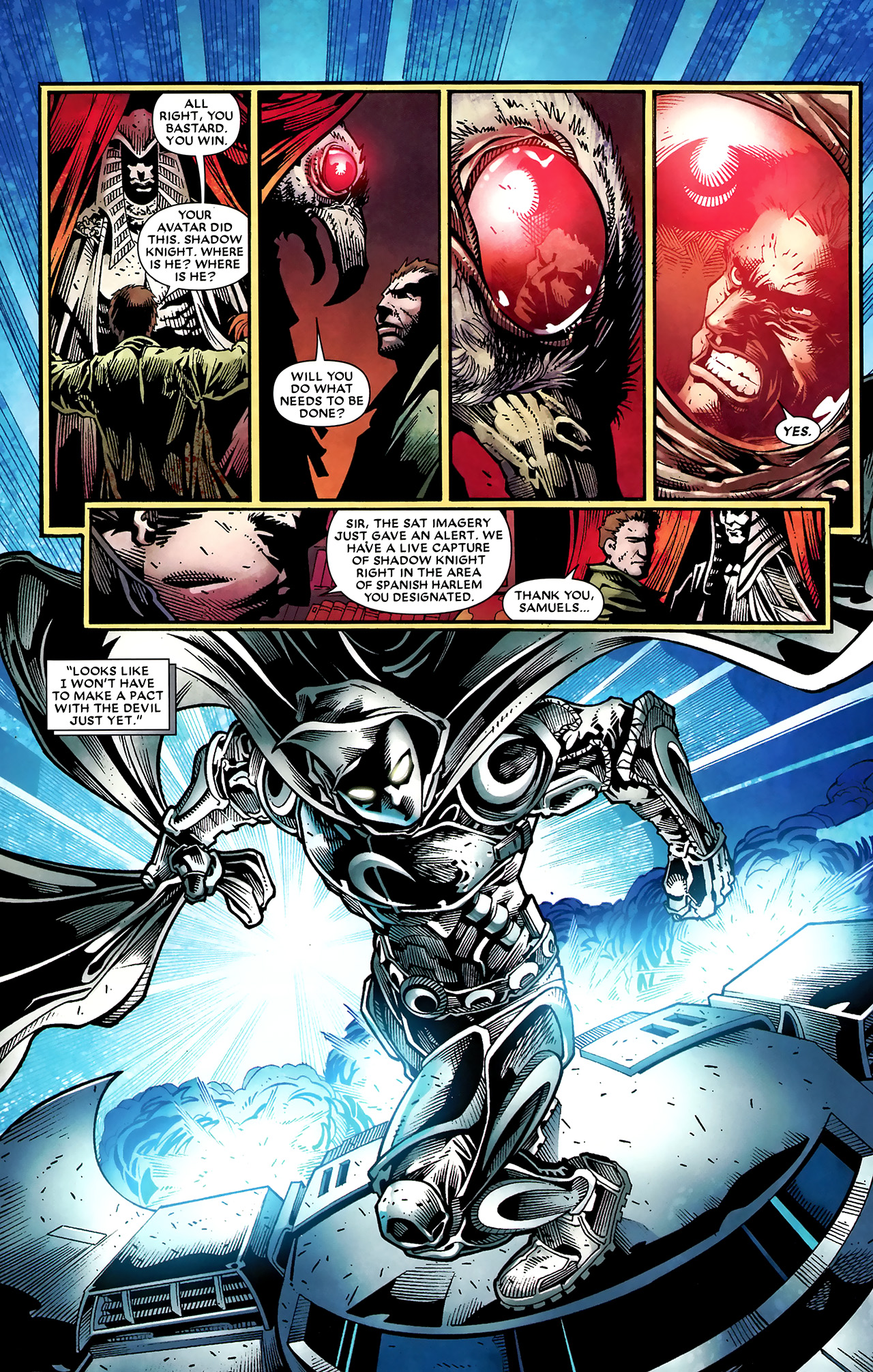 Read online Shadowland: Moon Knight comic -  Issue #2 - 19