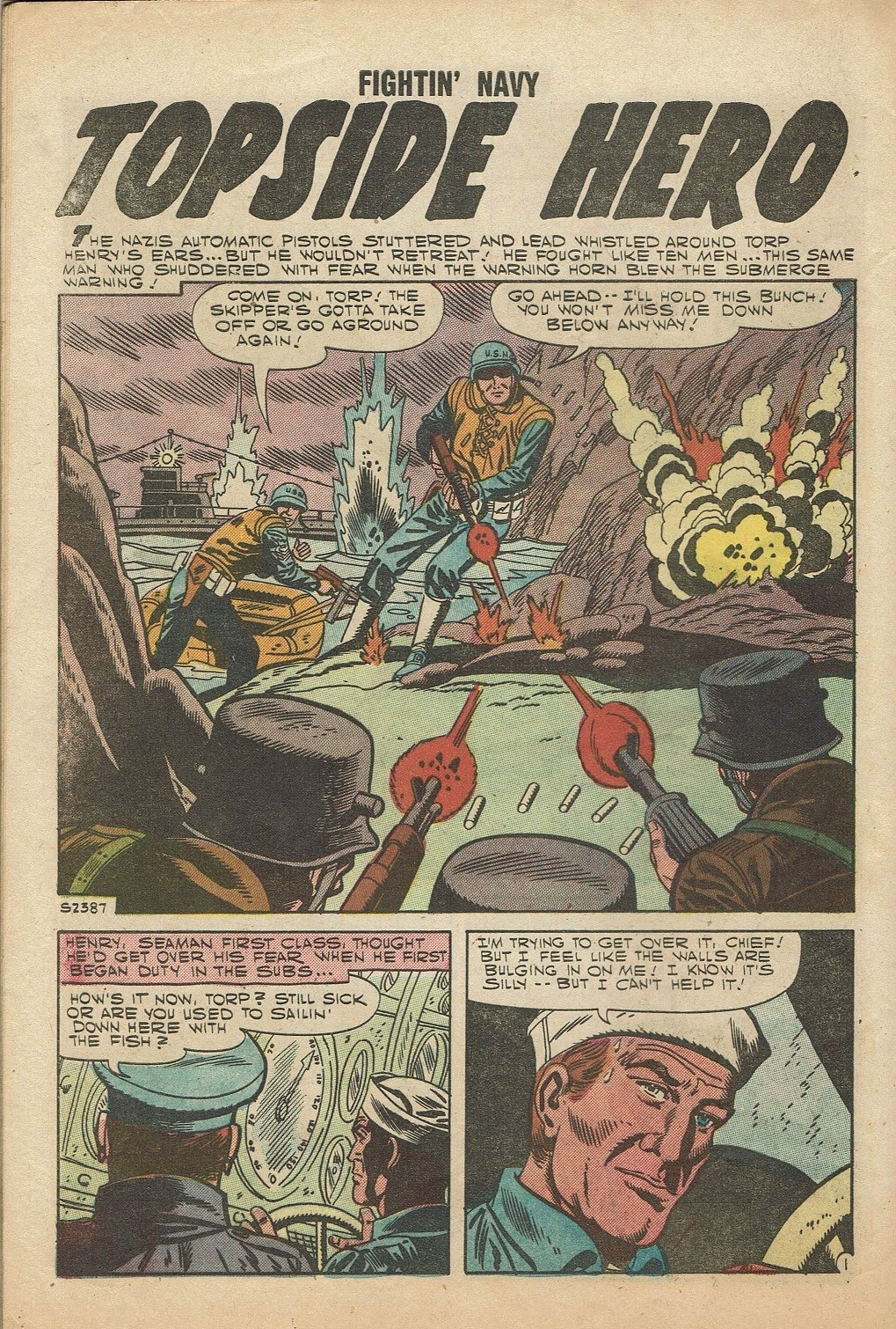 Read online Fightin' Navy comic -  Issue #81 - 28