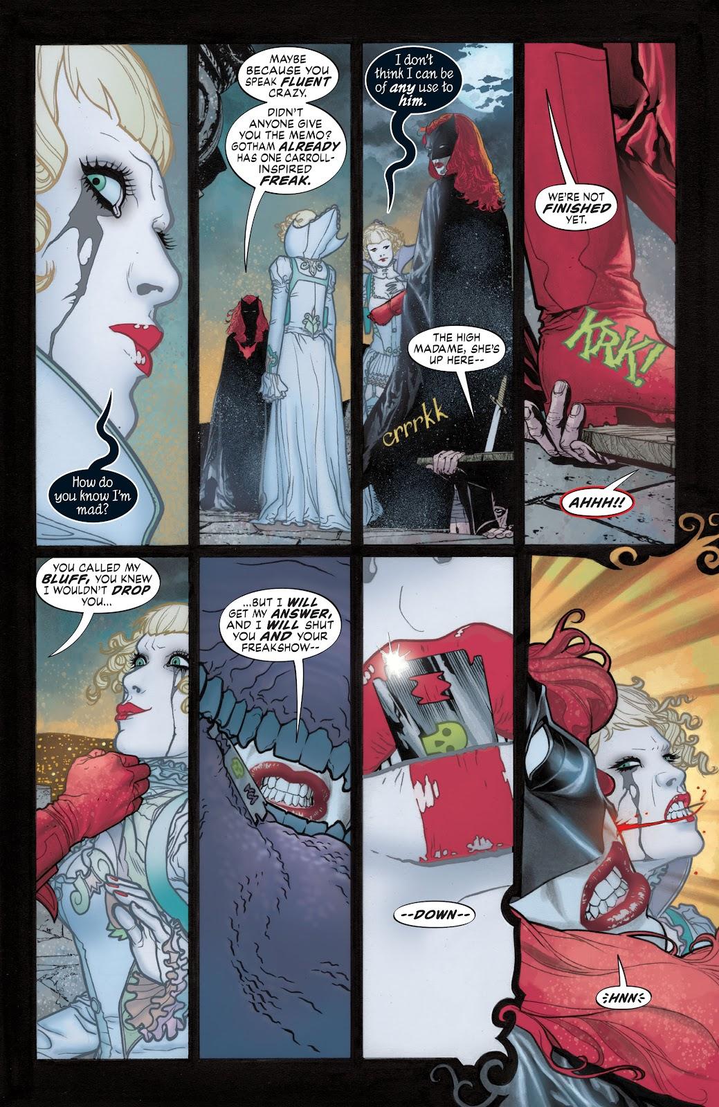 Read online Detective Comics (1937) comic -  Issue # _TPB Batwoman - Elegy (Part 1) - 34