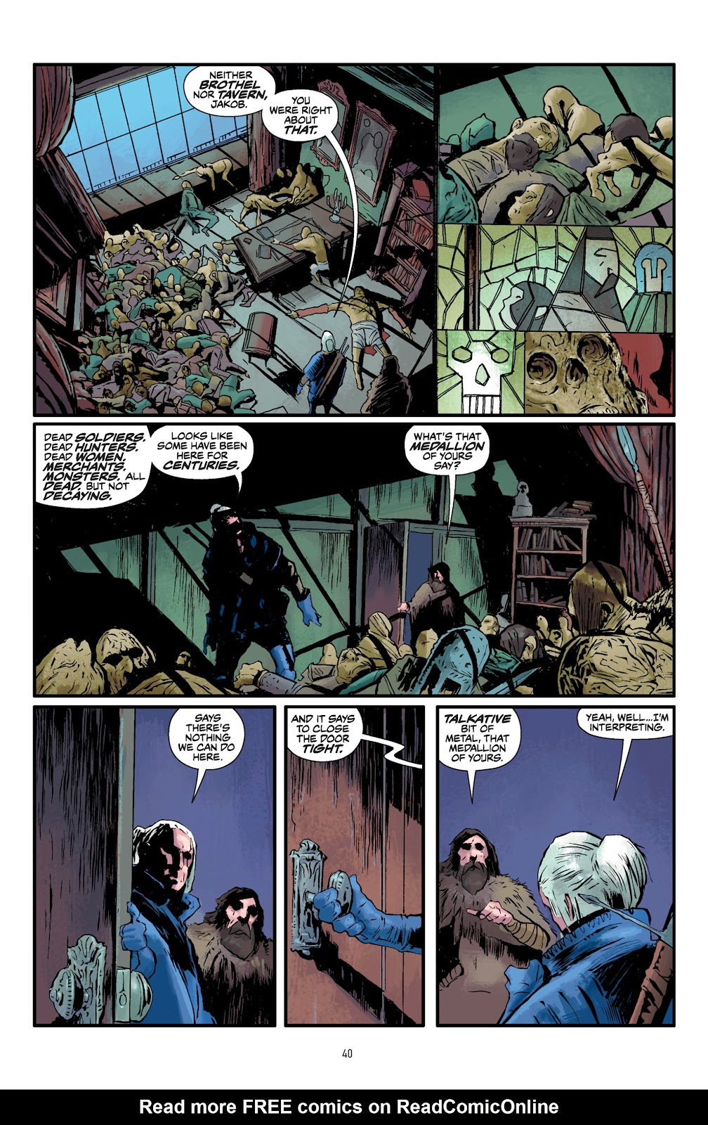 Read online The Witcher Omnibus comic -  Issue # TPB (Part 1) - 40