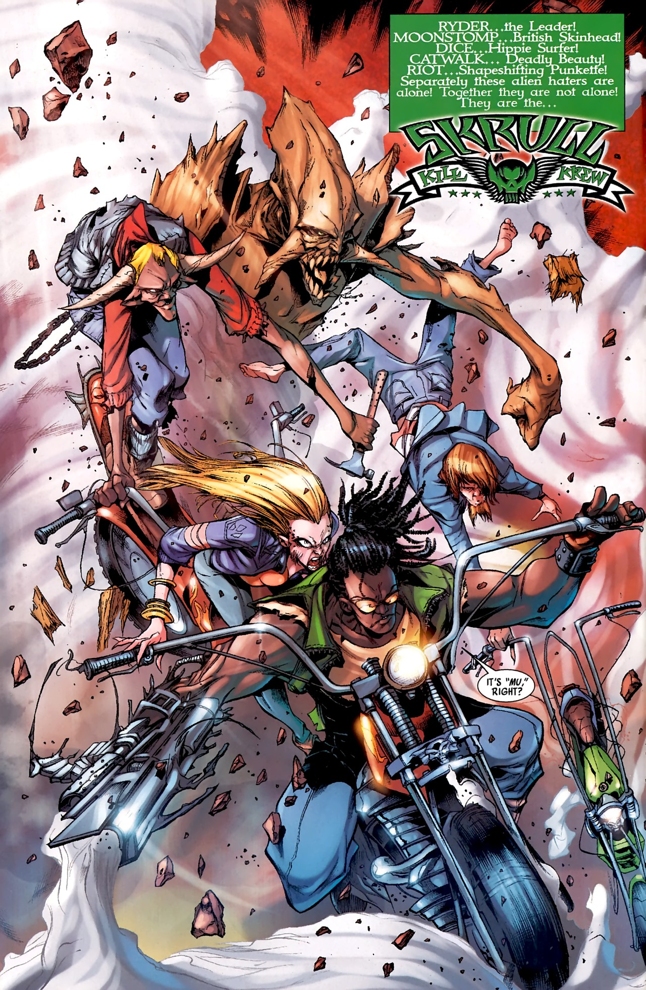 Read online Skrull Kill Krew (2009) comic -  Issue #4 - 7