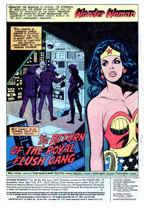 Read online Wonder Woman (1942) comic -  Issue #256 - 3