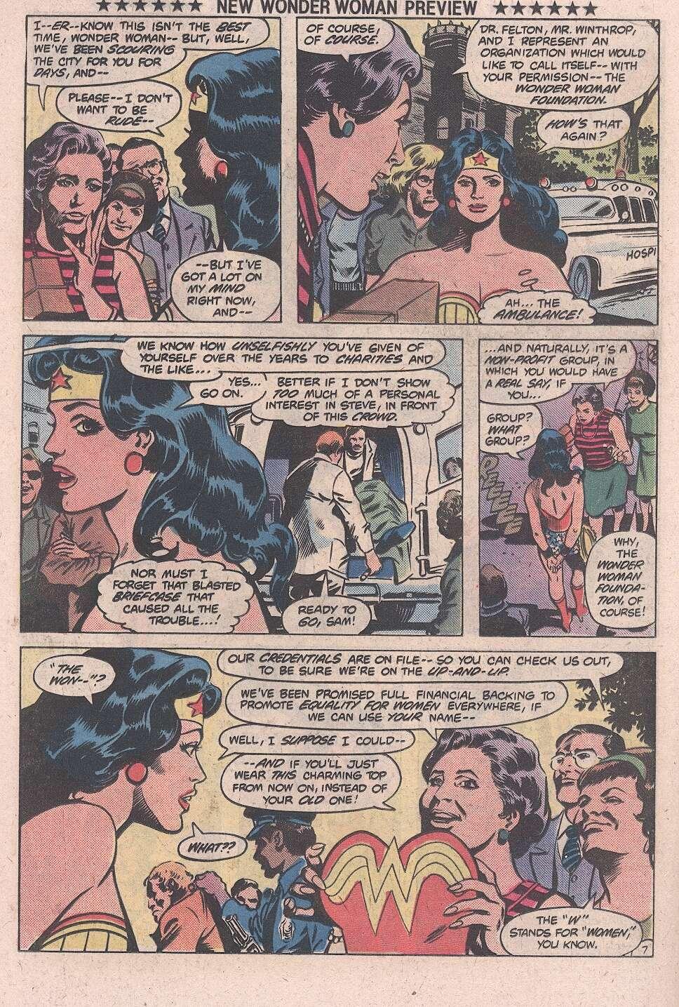 Read online Wonder Woman (1942) comic -  Issue #287b - 8