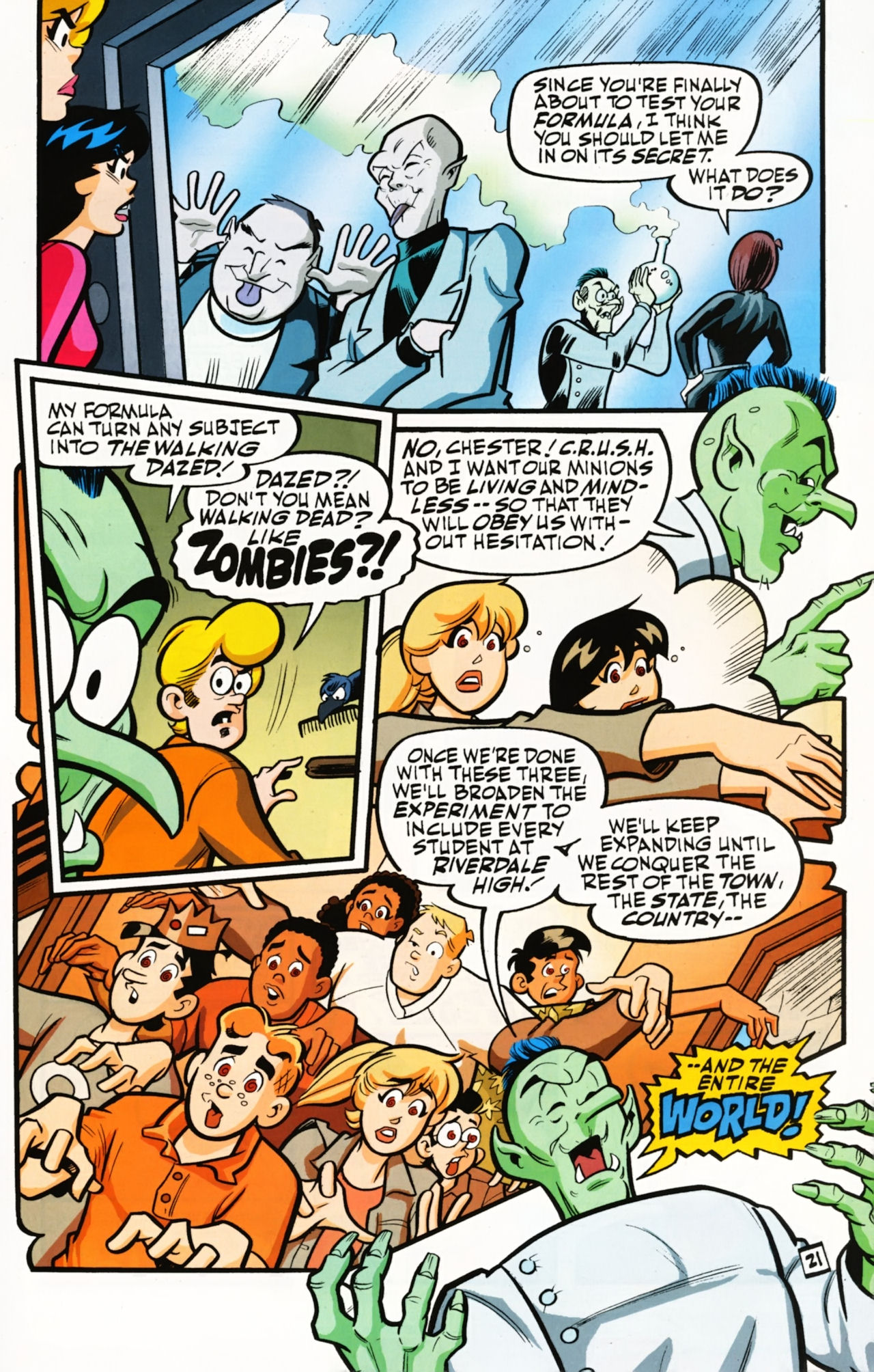 Read online Archie (1960) comic -  Issue #610 - 30