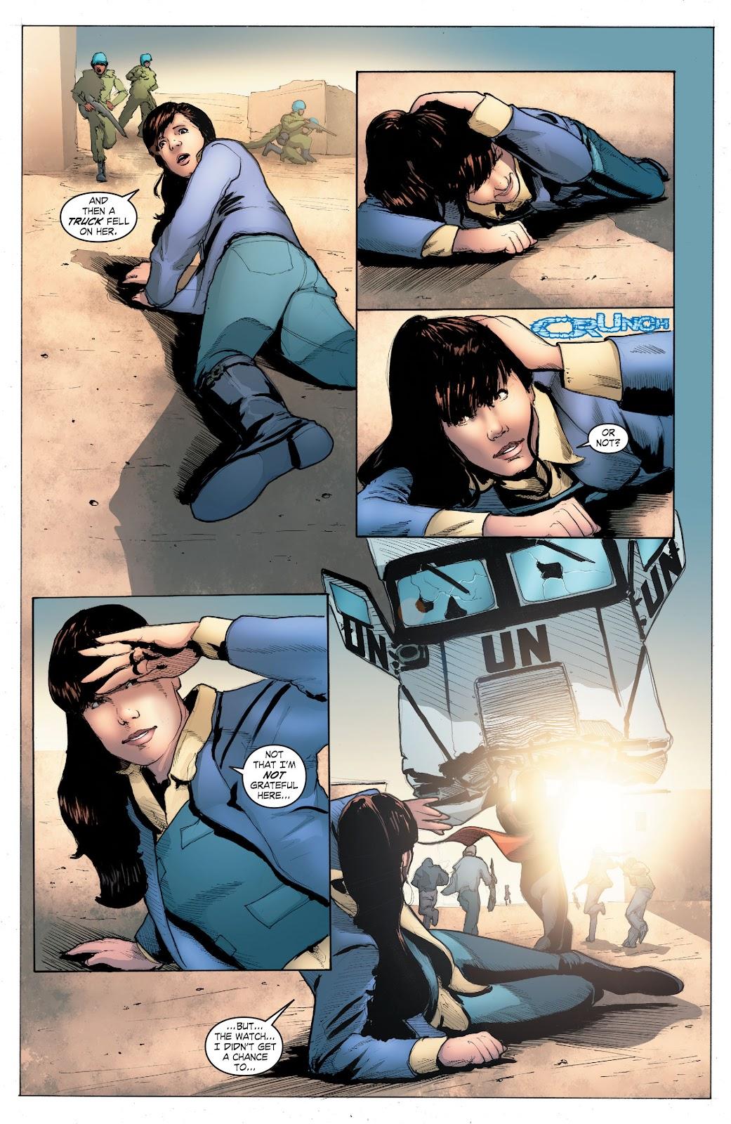 Read online Smallville Season 11 [II] comic -  Issue # TPB 4 - 111