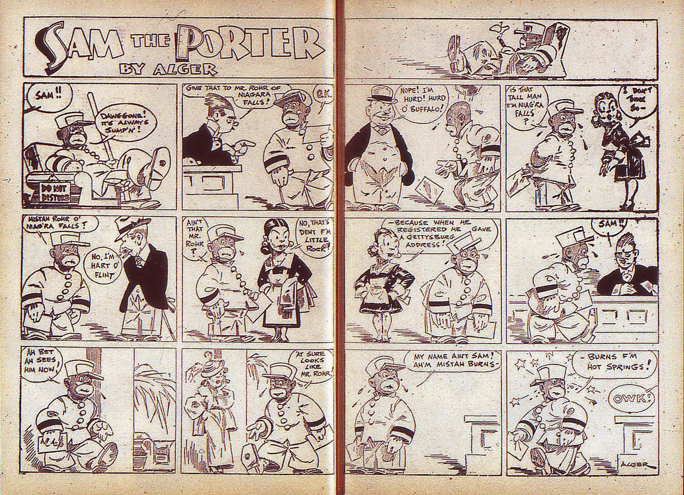 Read online Adventure Comics (1938) comic -  Issue #5 - 11