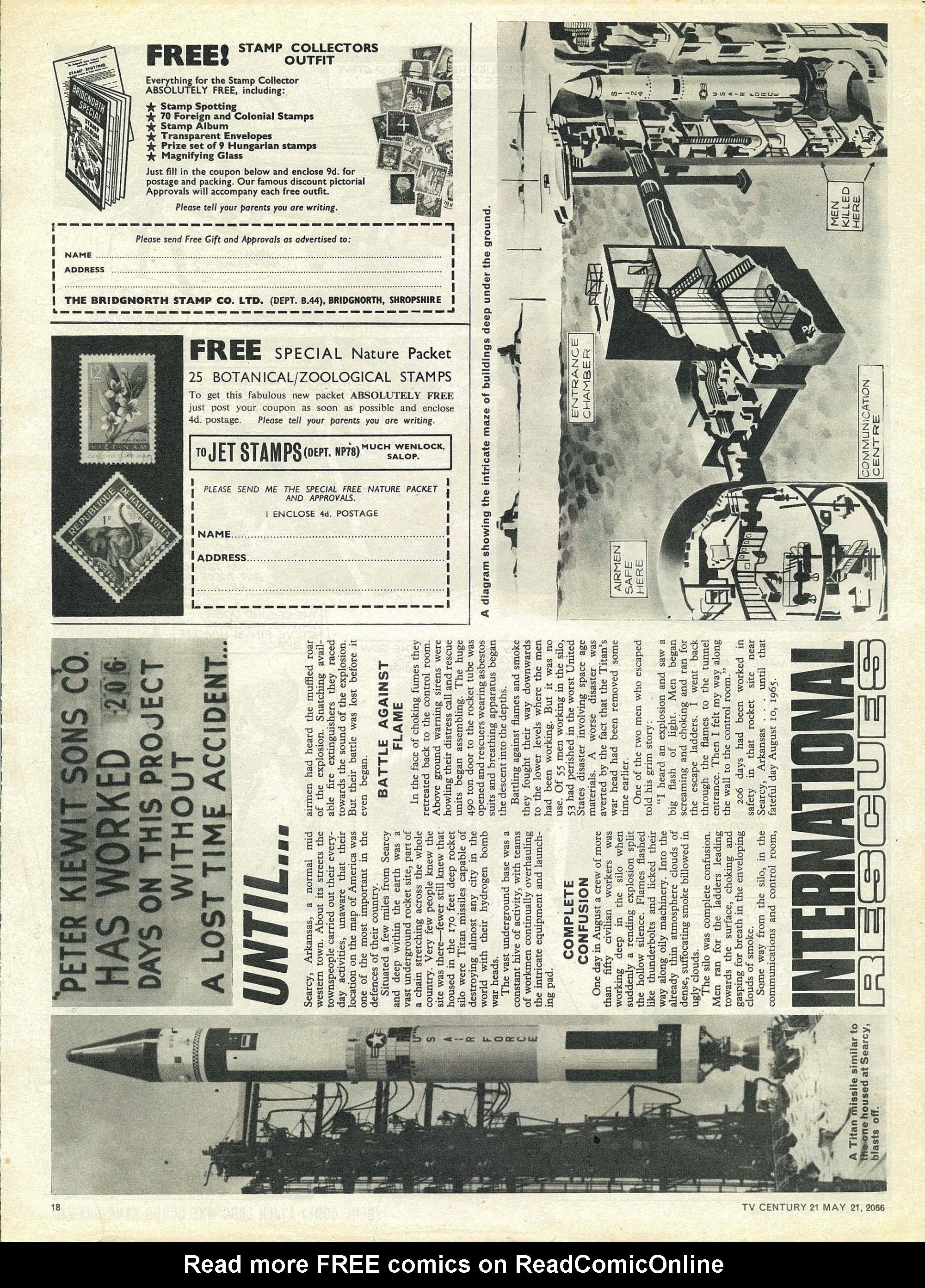 Read online TV Century 21 (TV 21) comic -  Issue #70 - 17