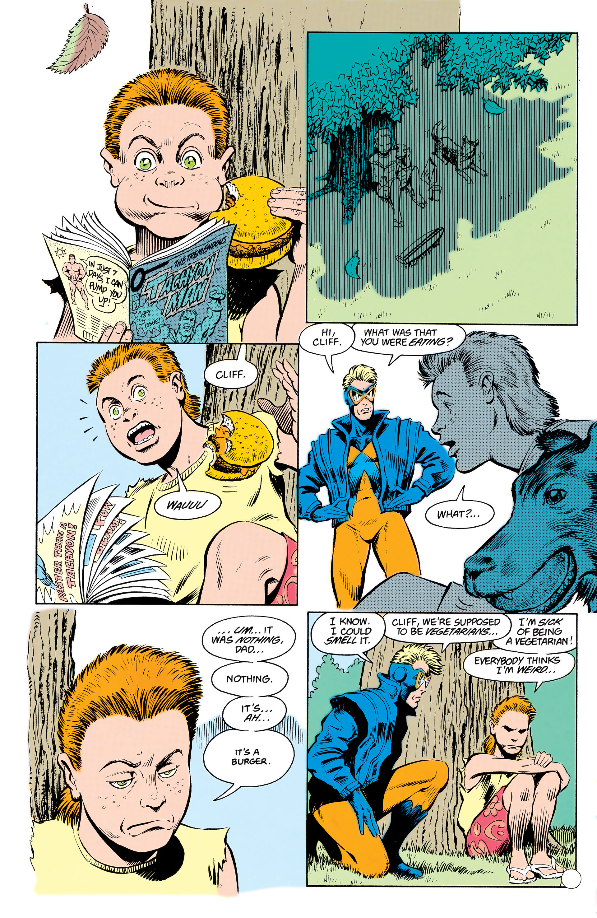 Read online Animal Man (1988) comic -  Issue #17 - 10