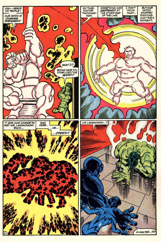 Read online Alpha Flight (1983) comic -  Issue #28 - 22