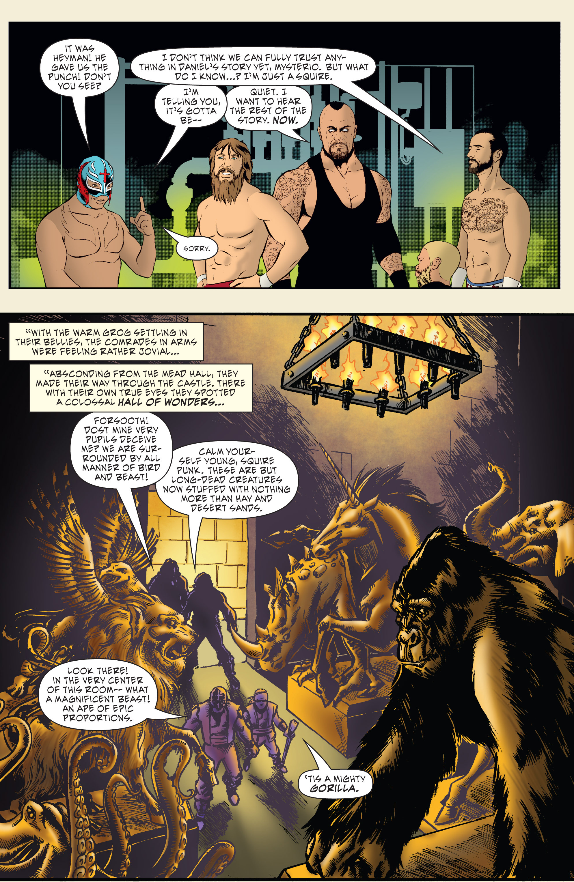 Read online WWE Superstars comic -  Issue #7 - 12